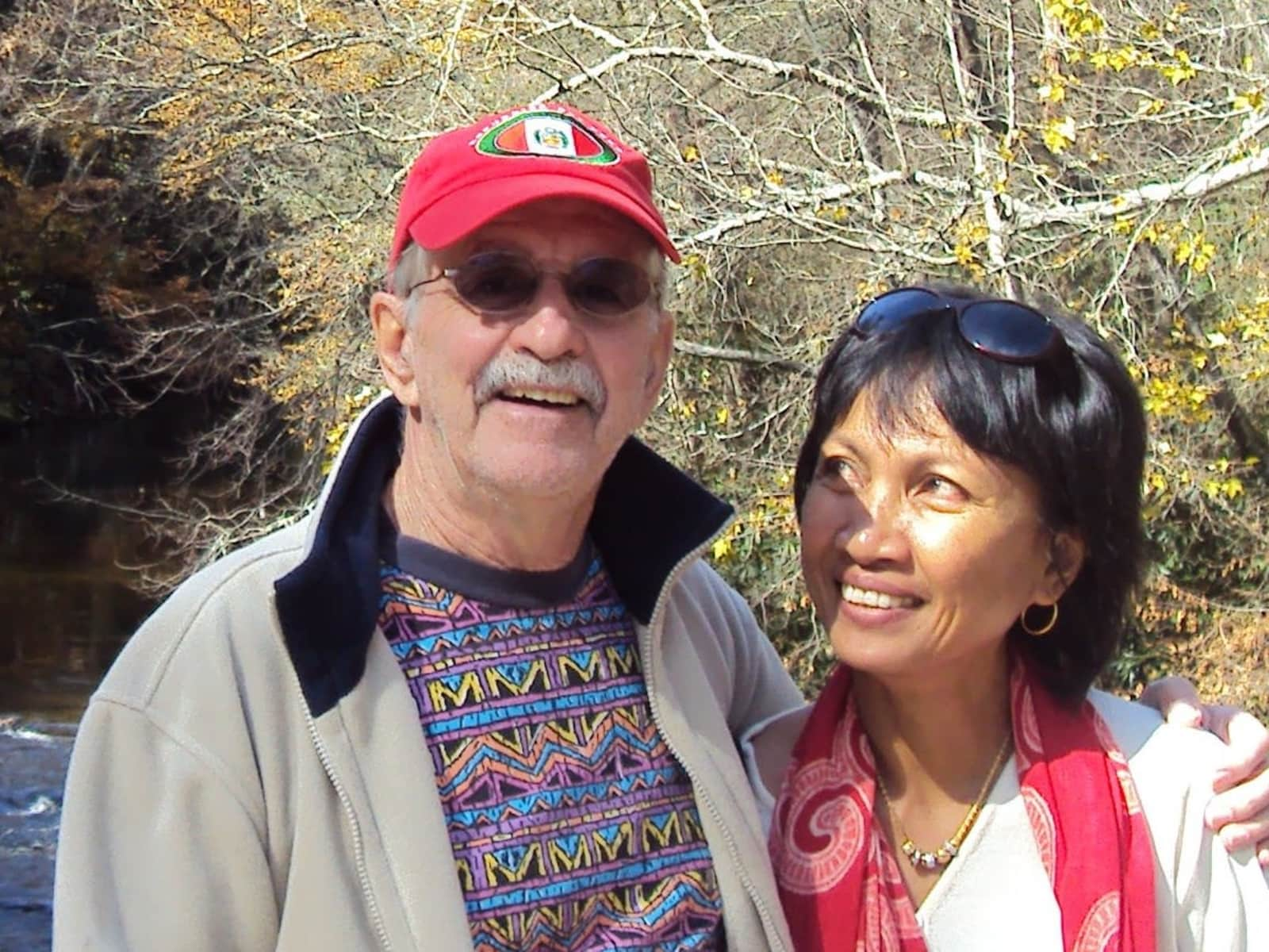 Sri & Tom from Vancouver, British Columbia, Canada