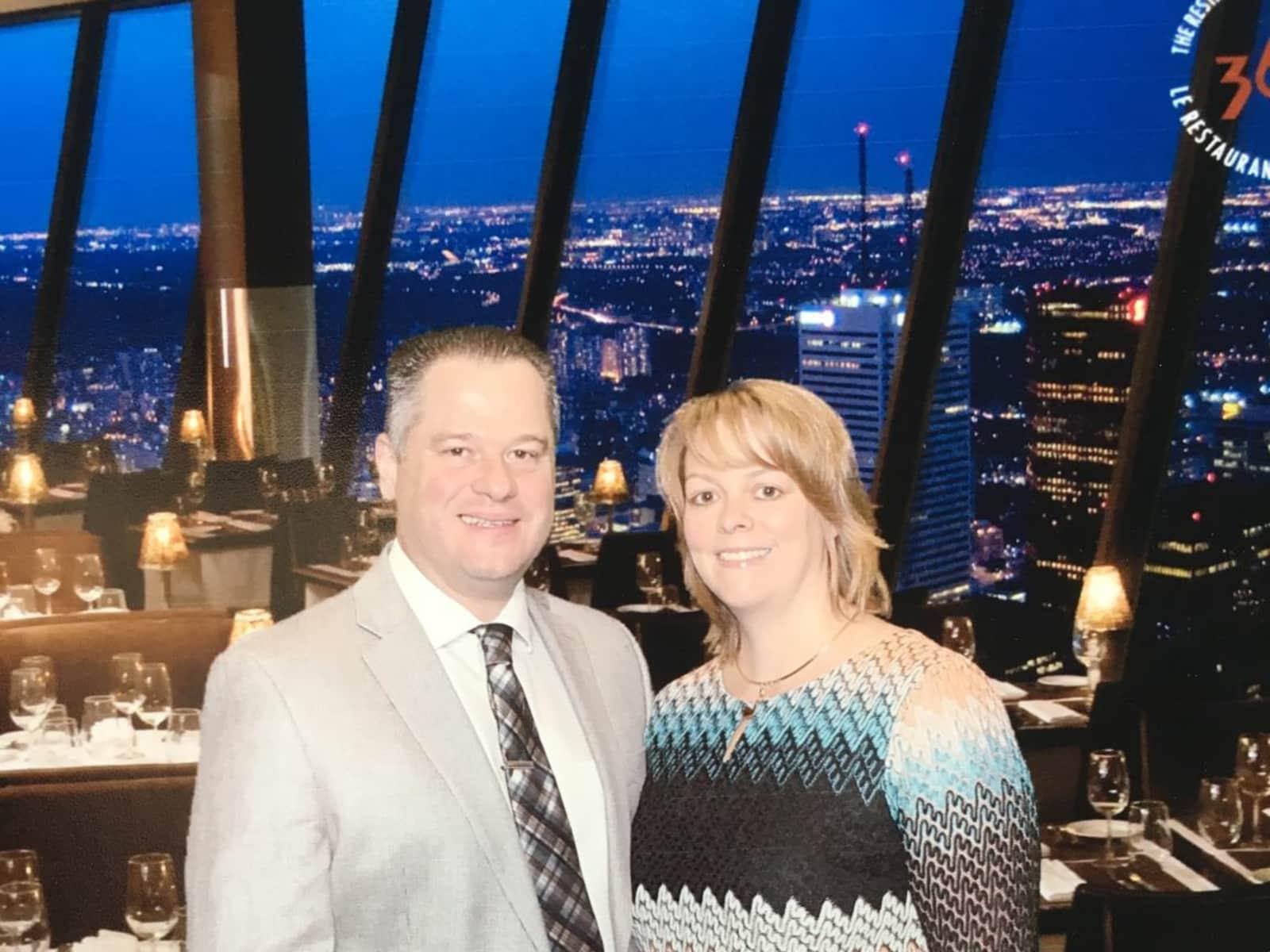 Charlene & Shawn from Toronto, Ontario, Canada