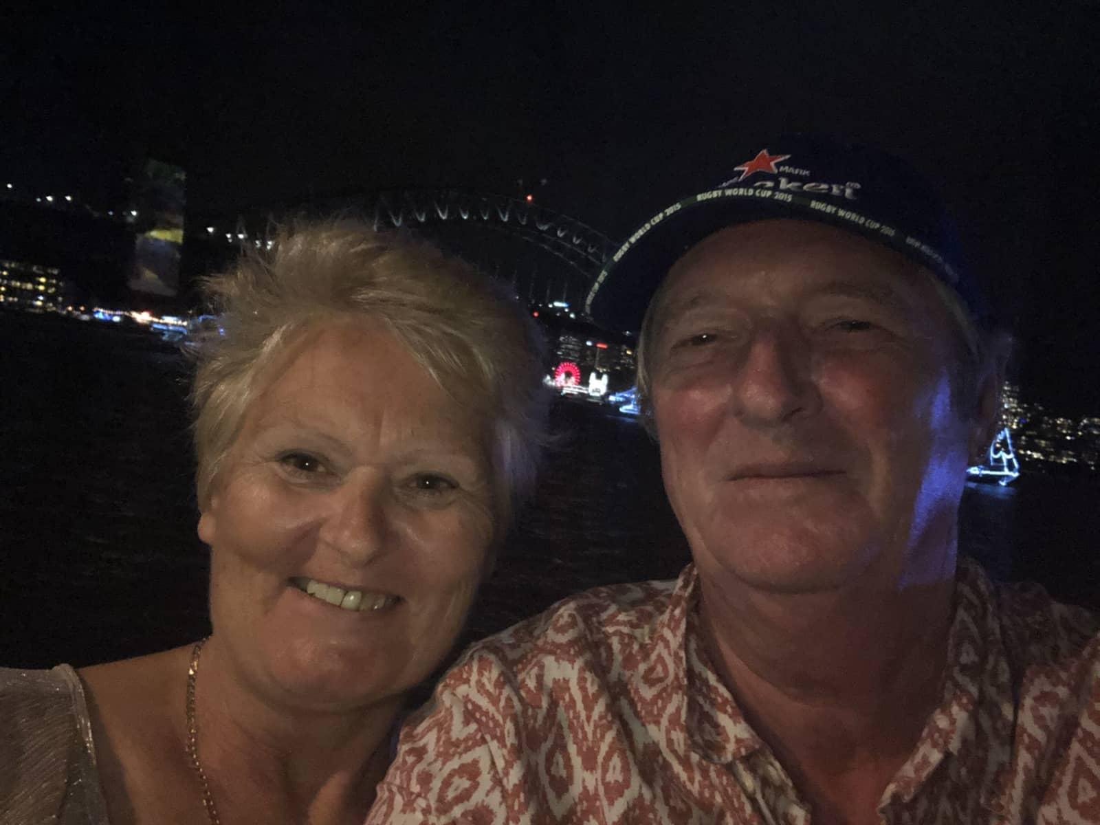 Steve & Christine from Brisbane, Queensland, Australia