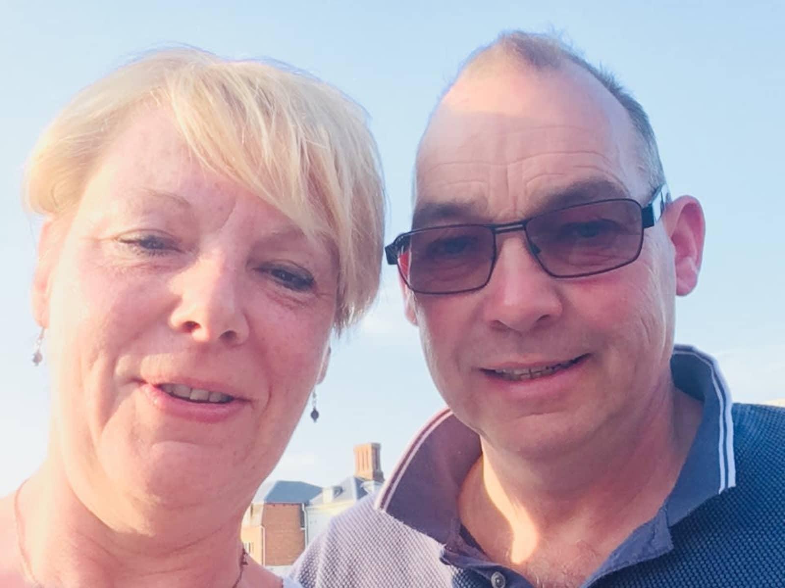Kim & Darren from Shrewsbury, United Kingdom