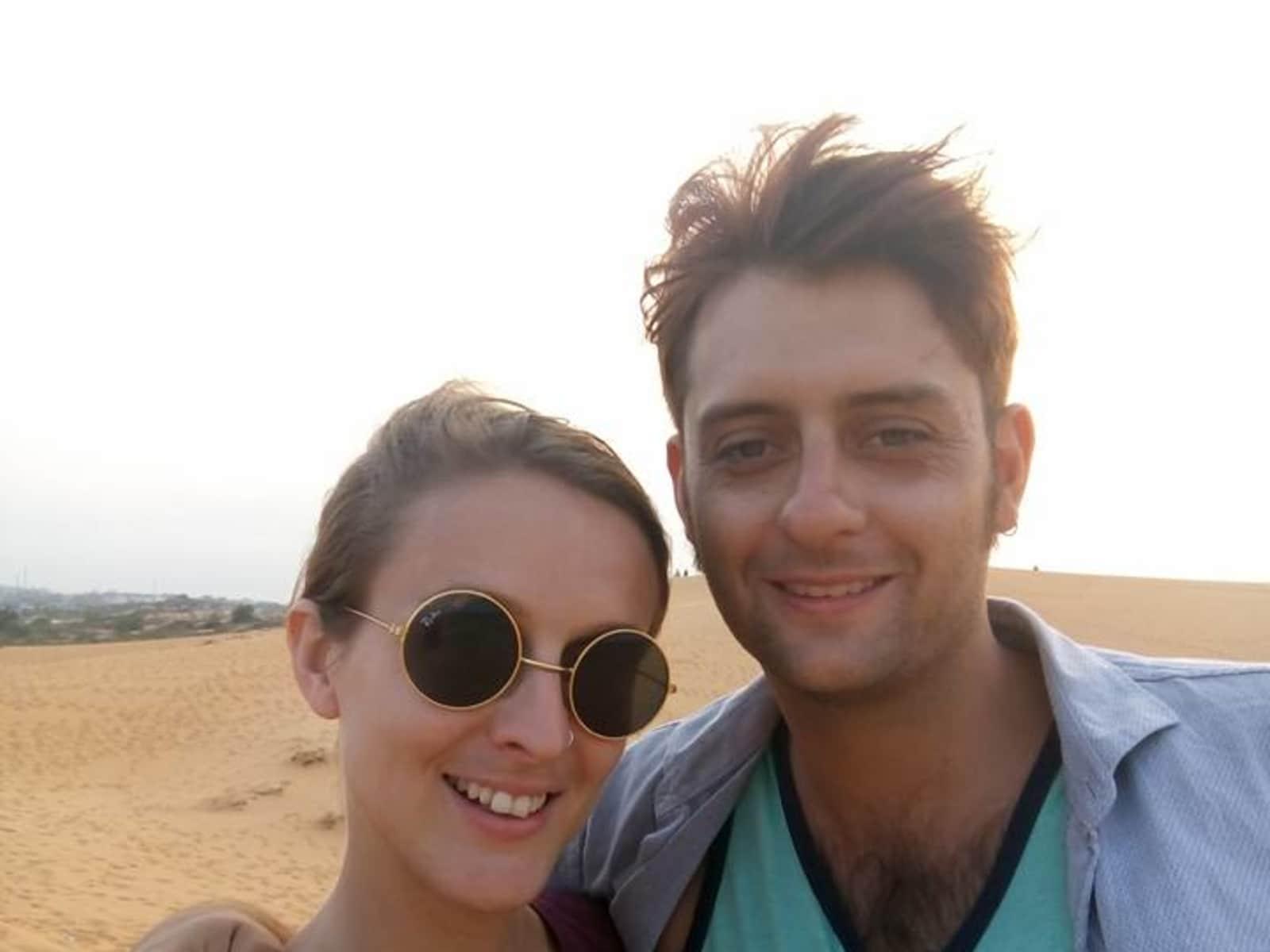 Emma & Bradley from Auckland, New Zealand