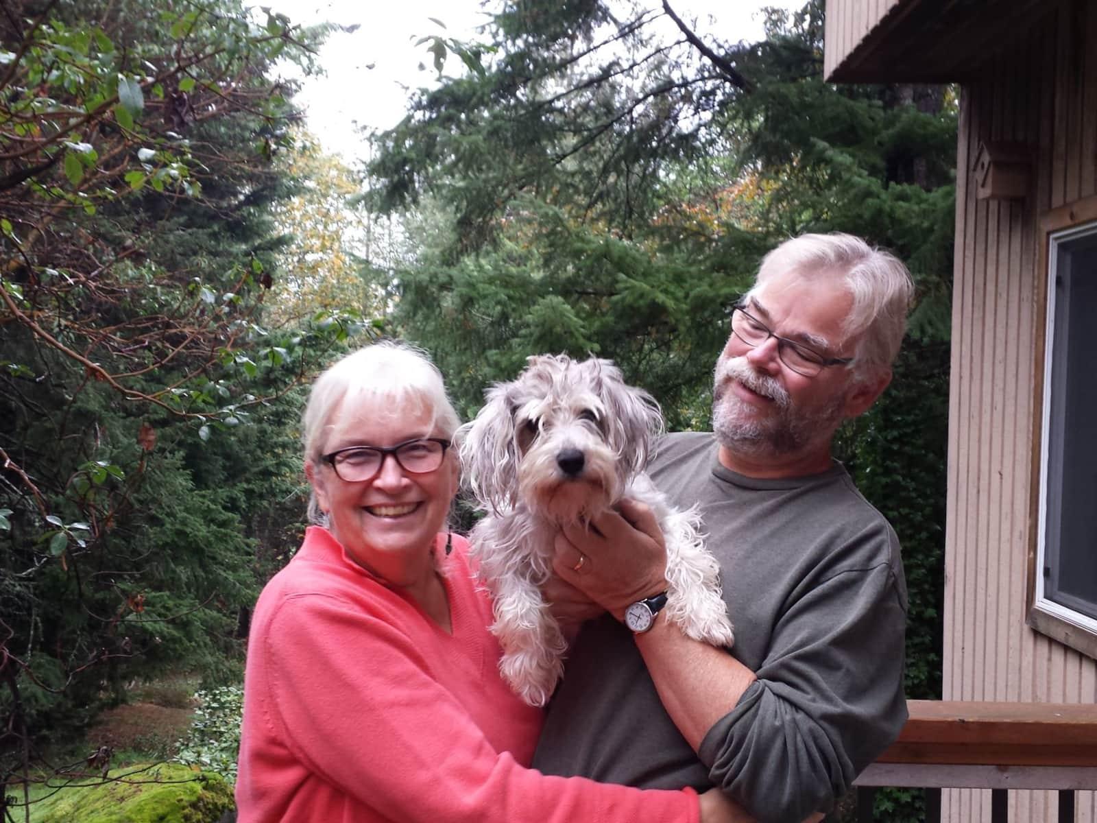 Sonja & Norman from Victoria, British Columbia, Canada
