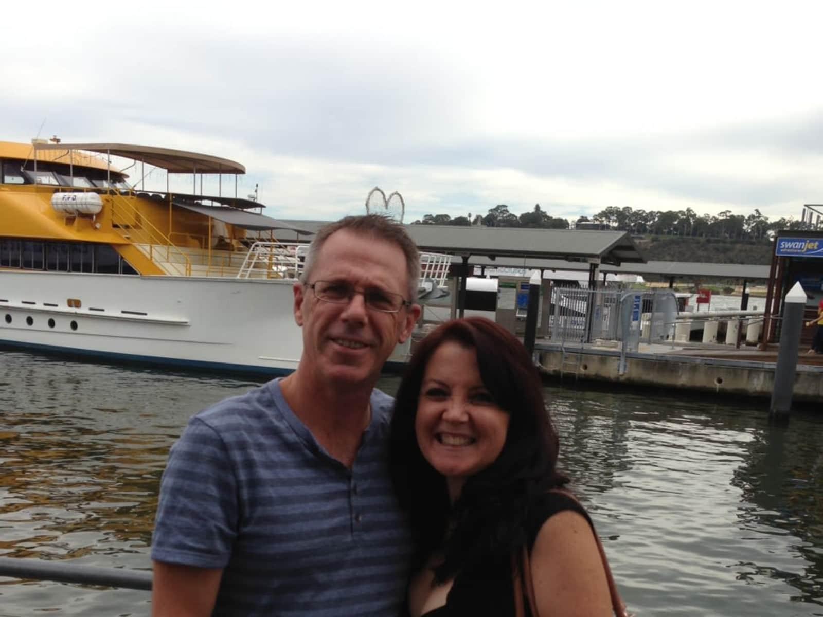 Rhonda & Mark from Perth, Western Australia, Australia