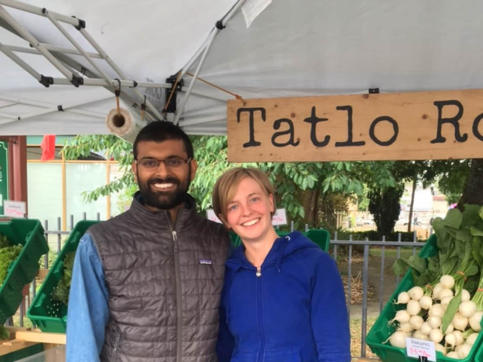 Ann & Ahmed from Grand Forks, British Columbia, Canada