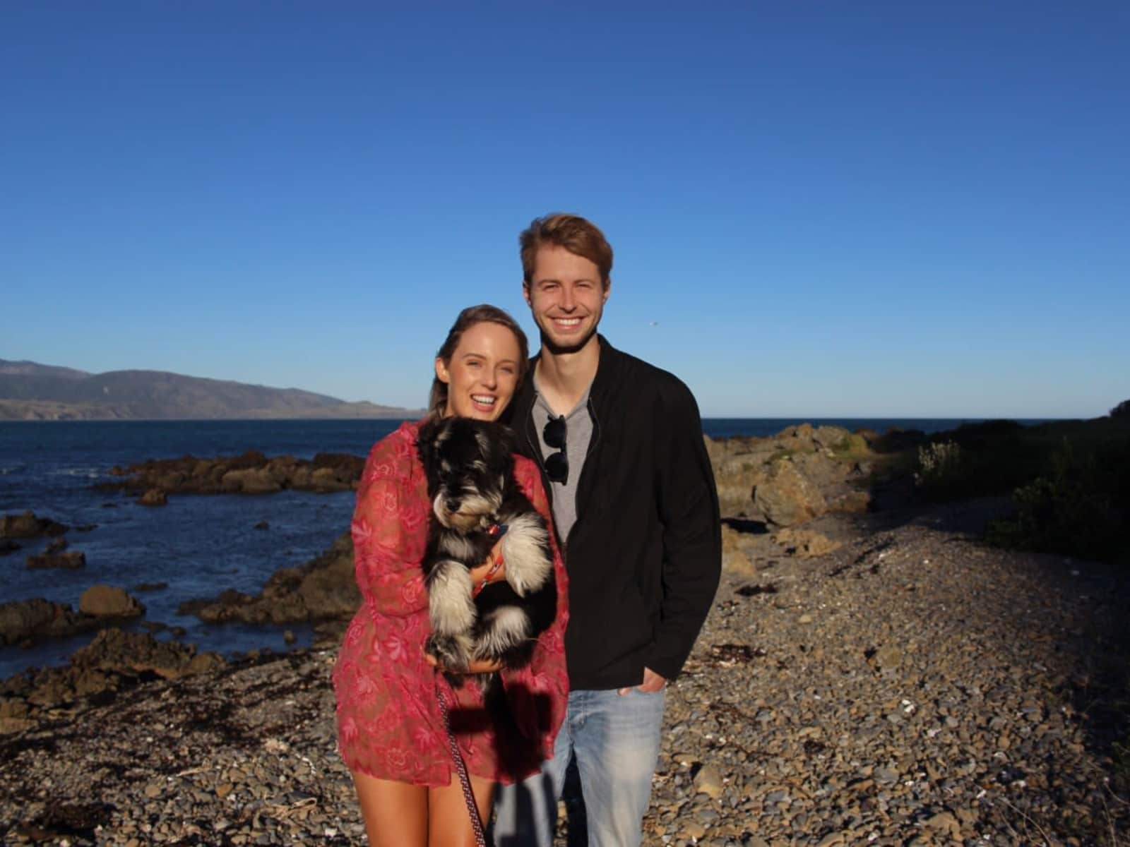 Dani & Connor from Wellington, New Zealand