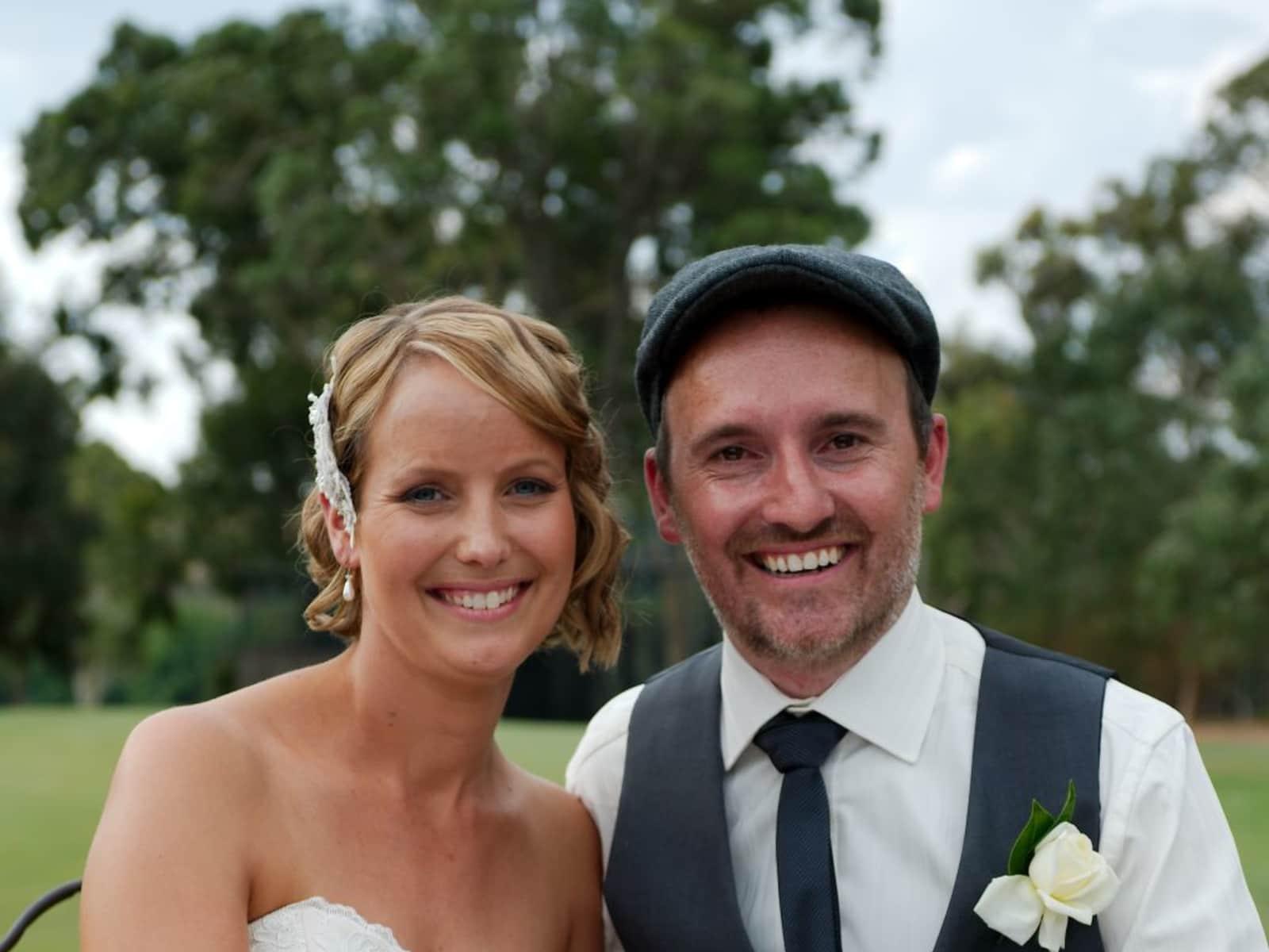 Dione & Stephen from Melbourne, Victoria, Australia