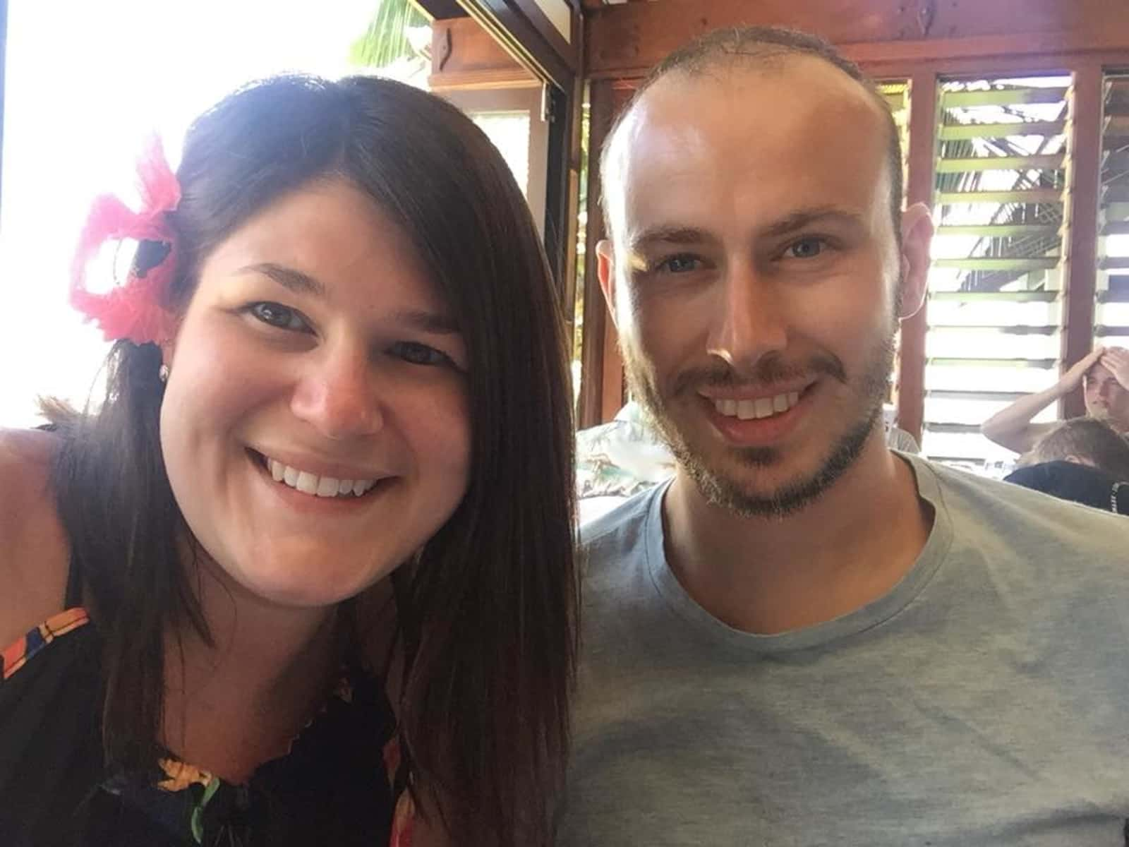 Claire & Paul from Sydney, New South Wales, Australia
