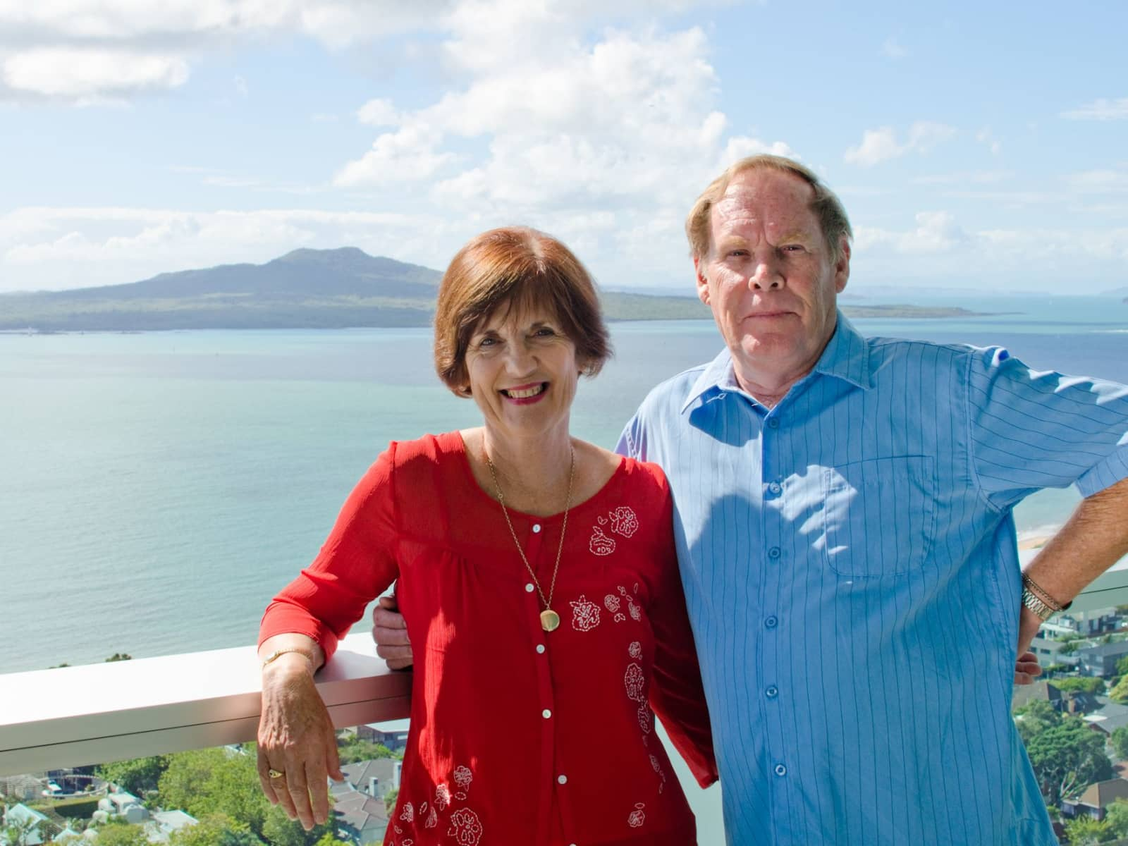 Gavin & Barbara from North Shore, New Zealand