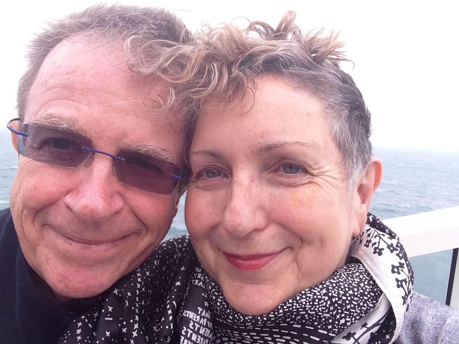 Kathy & Nigel from Huddersfield, United Kingdom