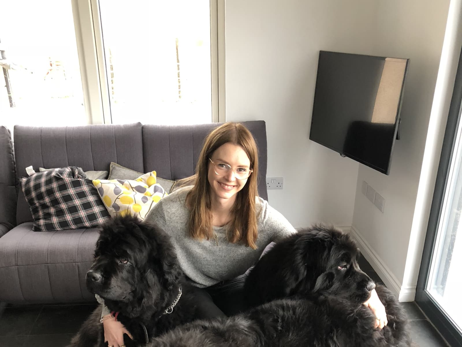Lucy & Hudson from London, United Kingdom
