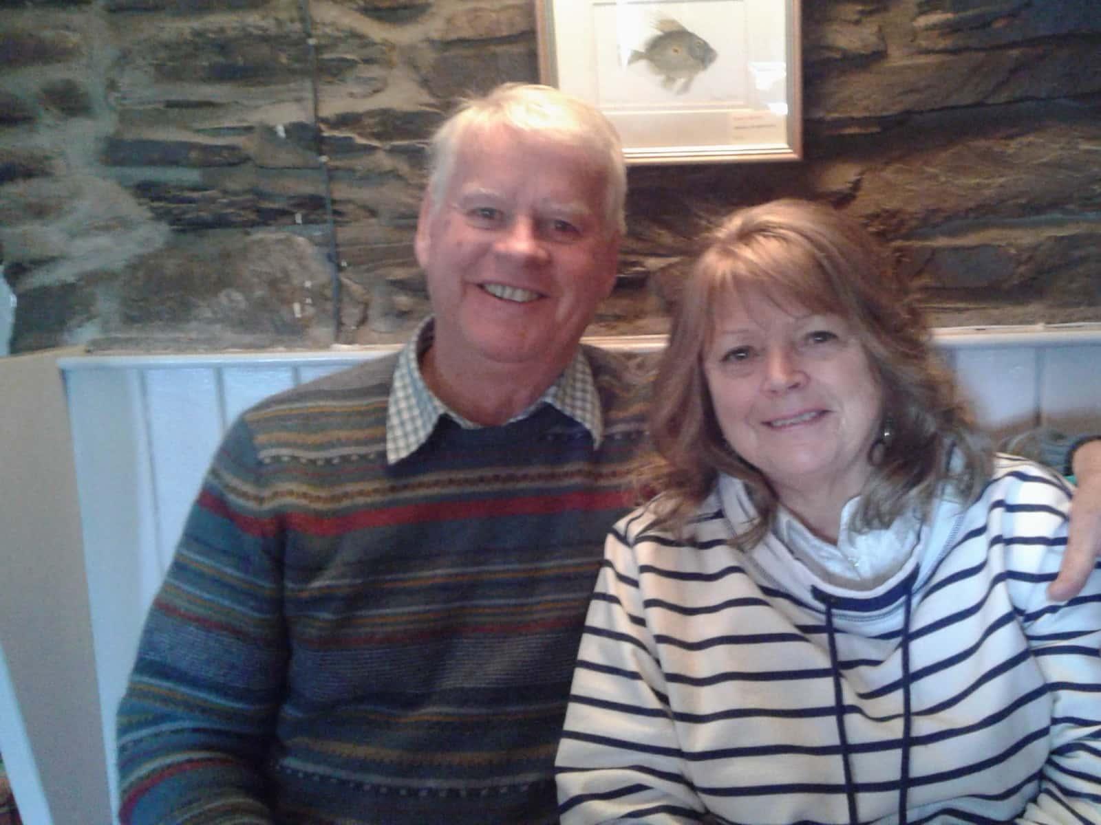 Stephanie & Robert from Truro, United Kingdom