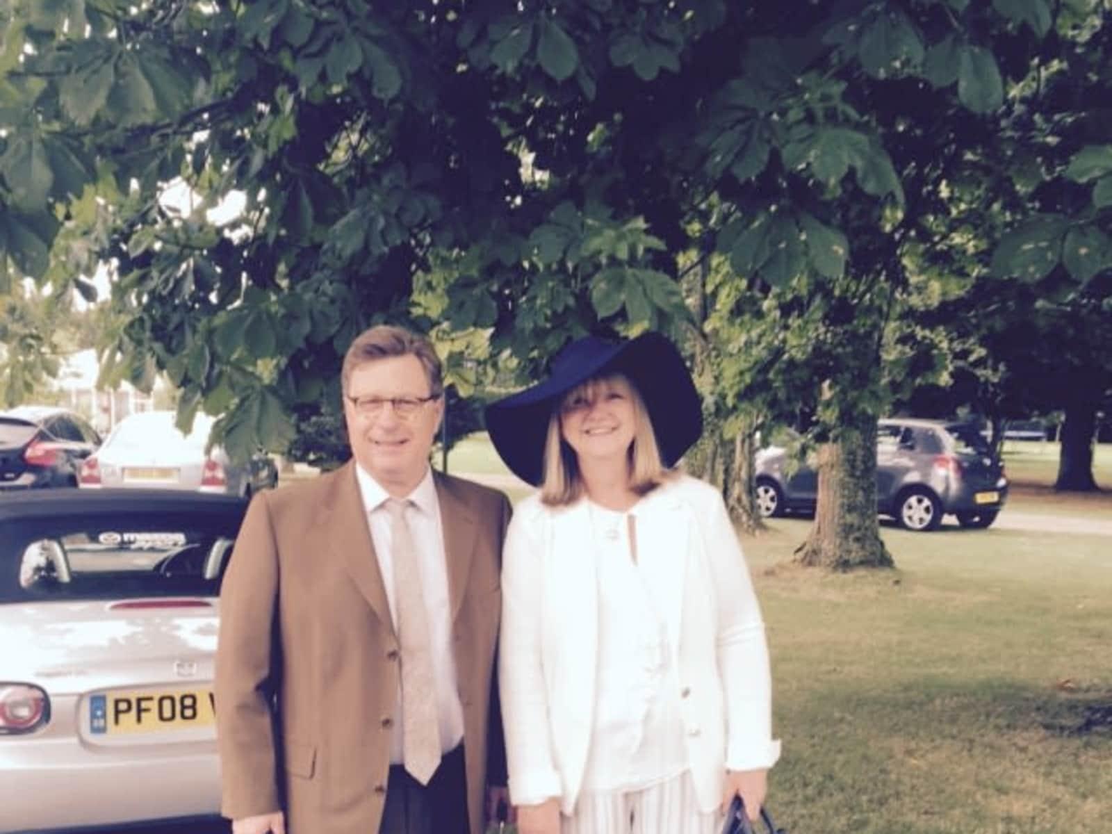Lesley & Stewart from London, United Kingdom