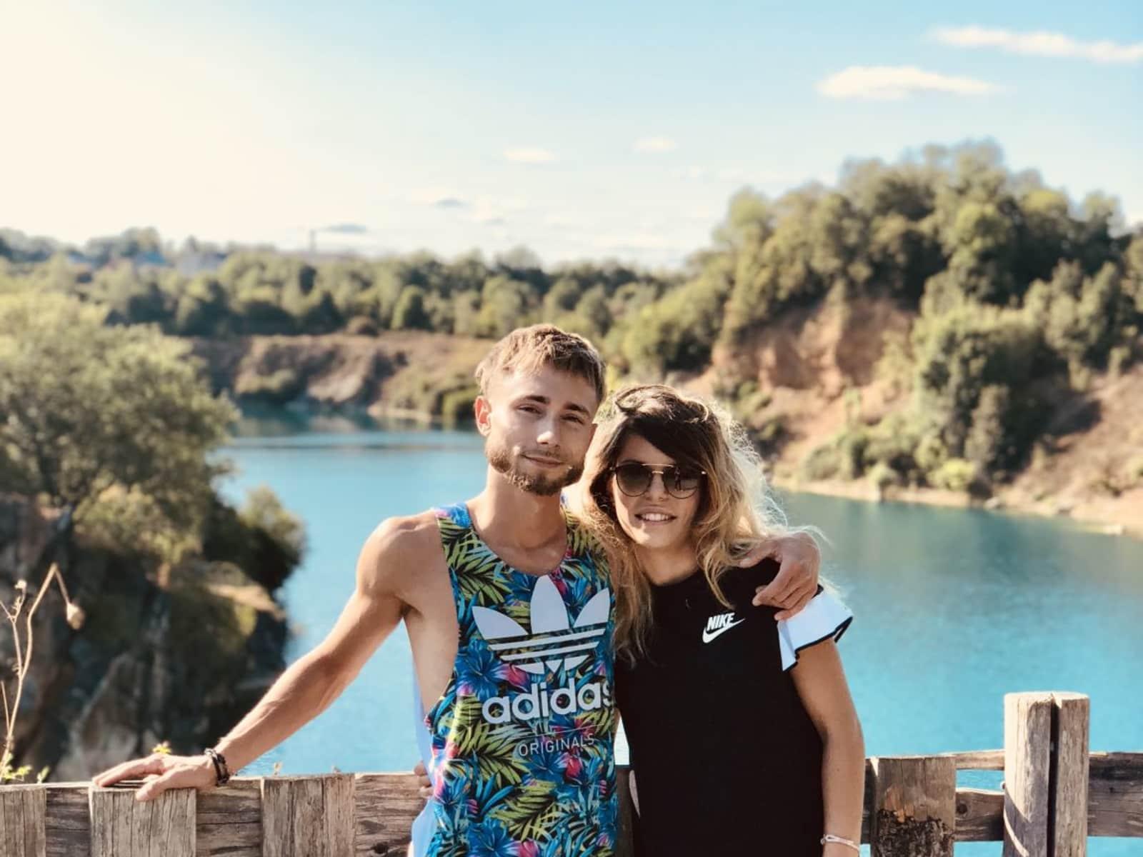 Romain & Alicia from Perth, Western Australia, Australia