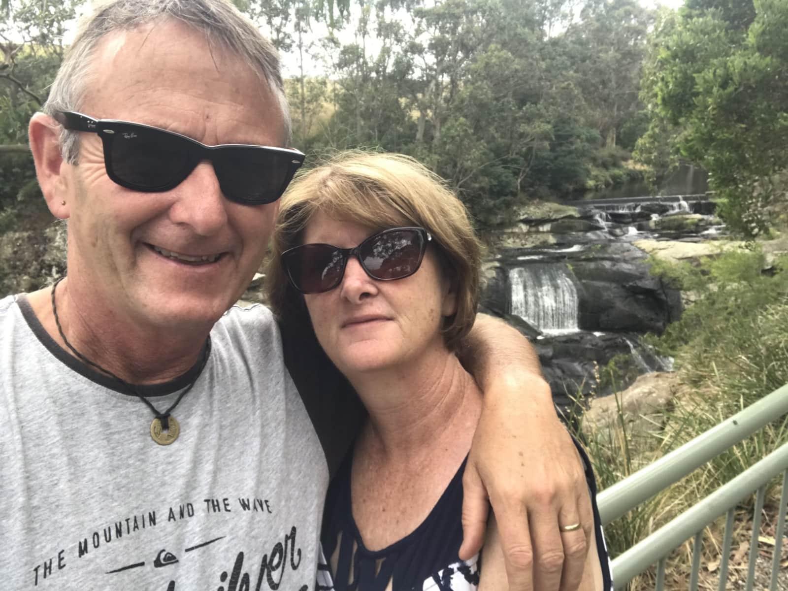 Scott & Kerrie from Melbourne, Victoria, Australia