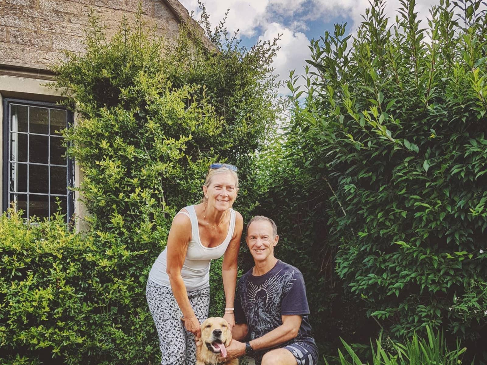 Linda & Nigel from Launceston, Tasmania, Australia