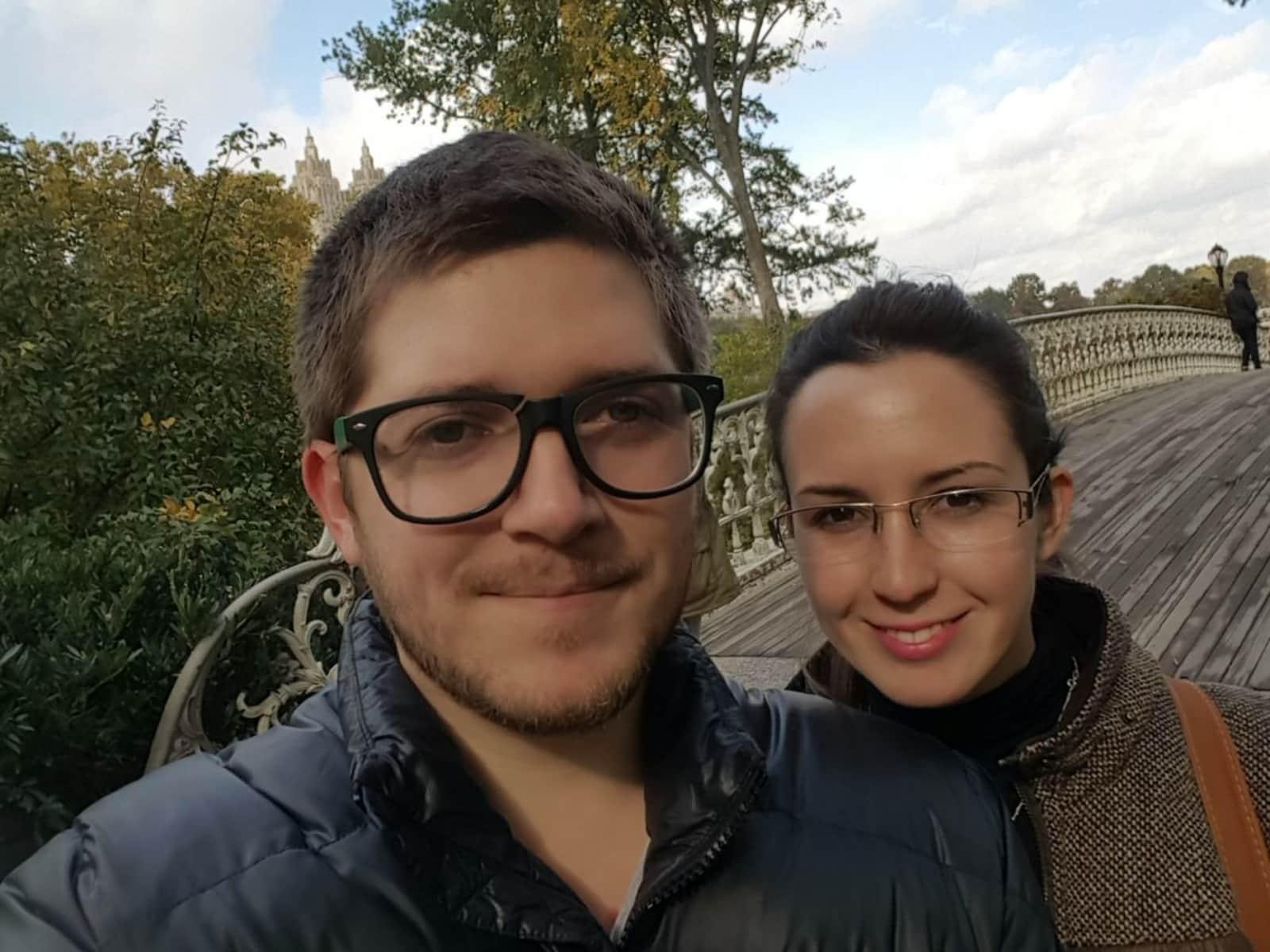 Gabriel & Carolina from Santiago, Chile