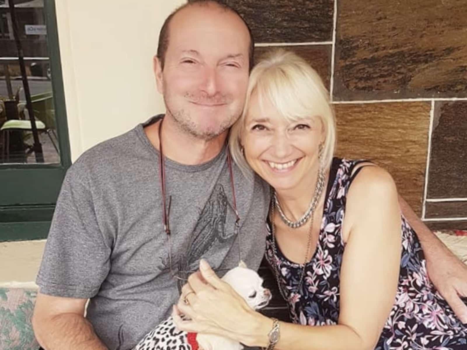 Rachel & John from Adelaide, South Australia, Australia