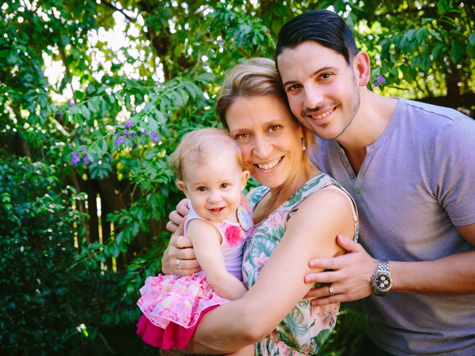 Rhyll & Steven from Brisbane, Queensland, Australia