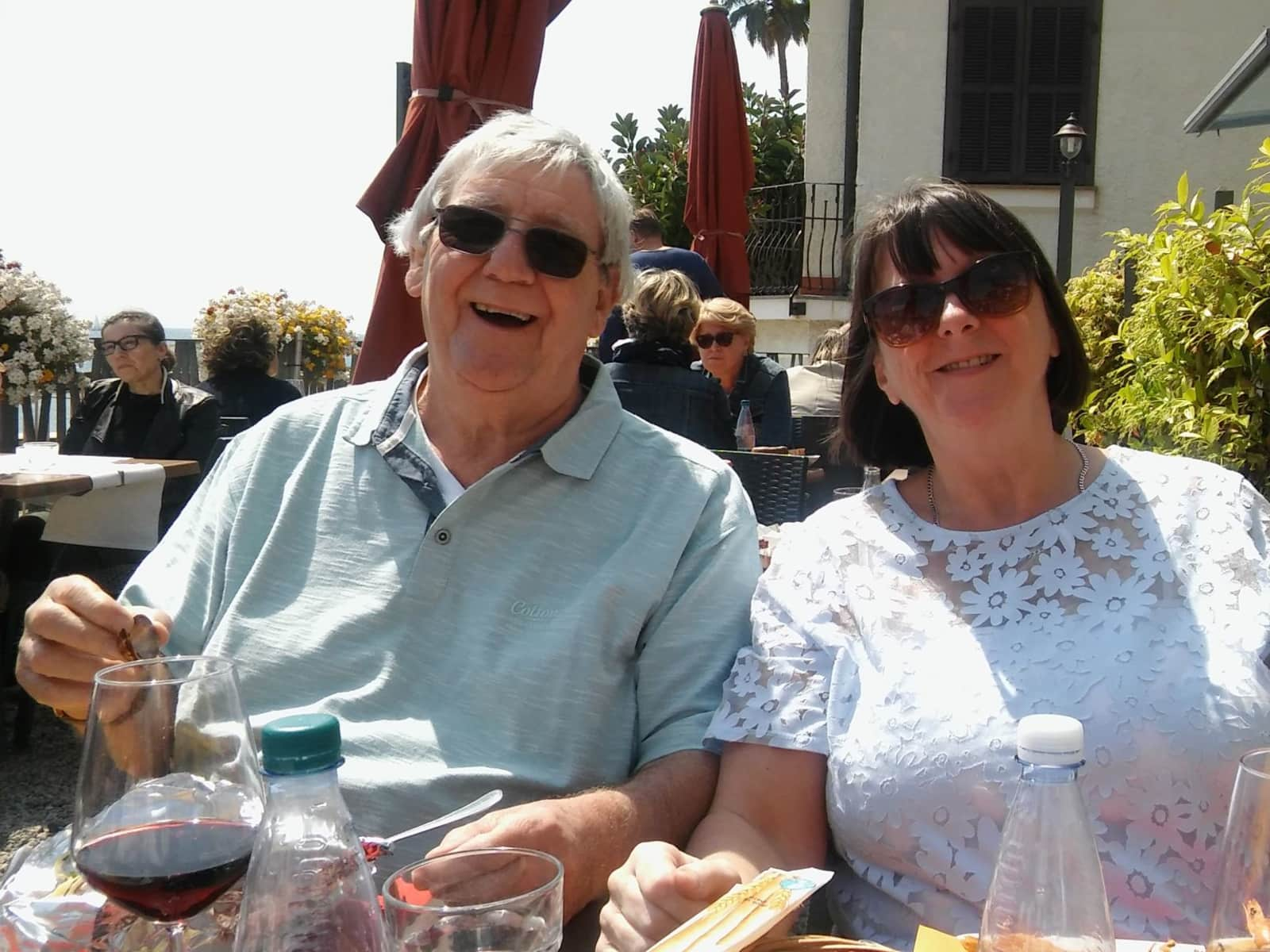 Maggie & John from Whitefield, United Kingdom