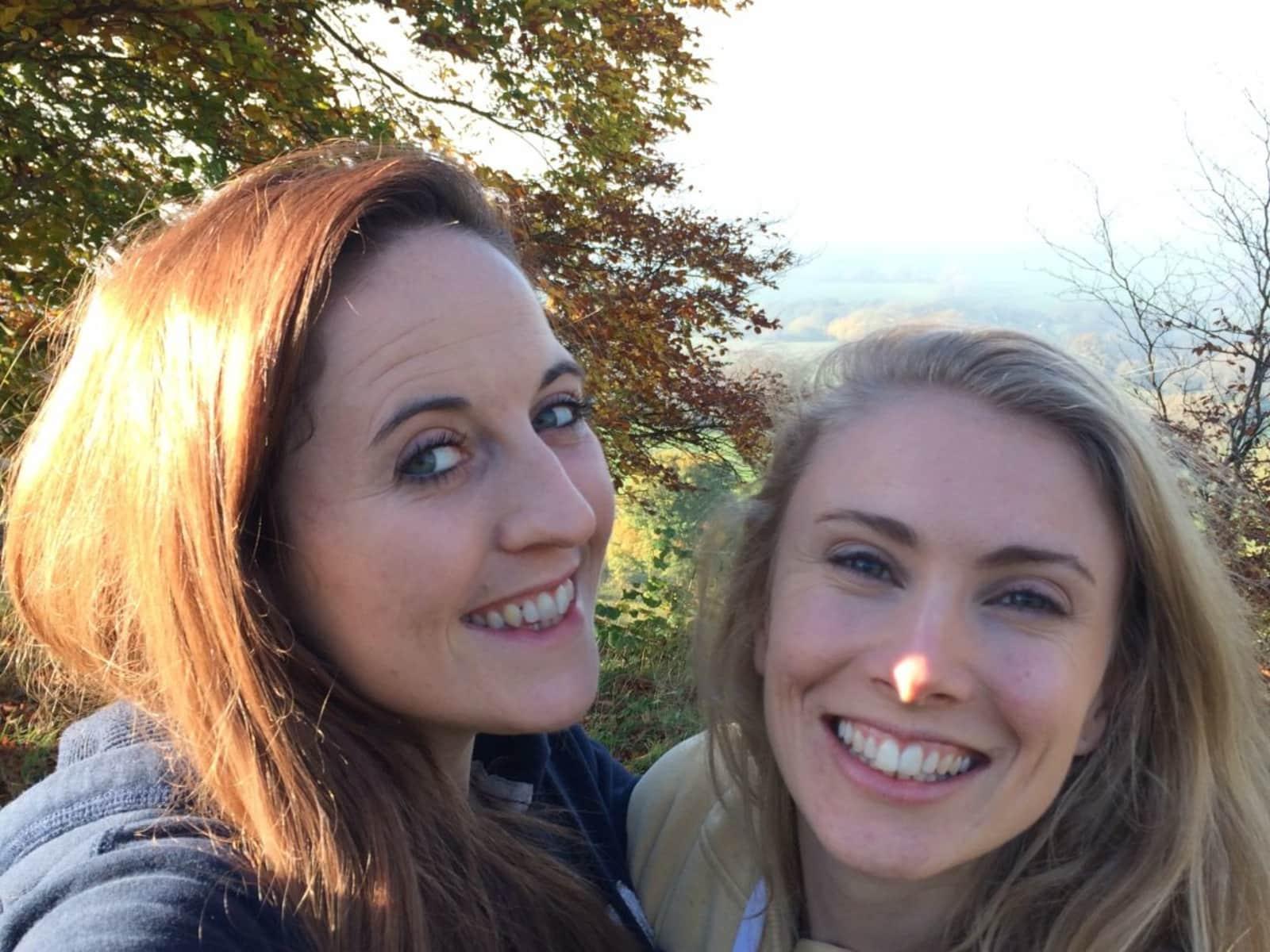 Megan & Hannah  from Cheltenham, United Kingdom