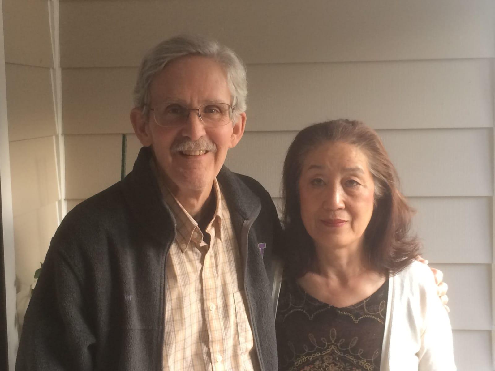Ikuko & Frank from Tacoma, Washington, United States