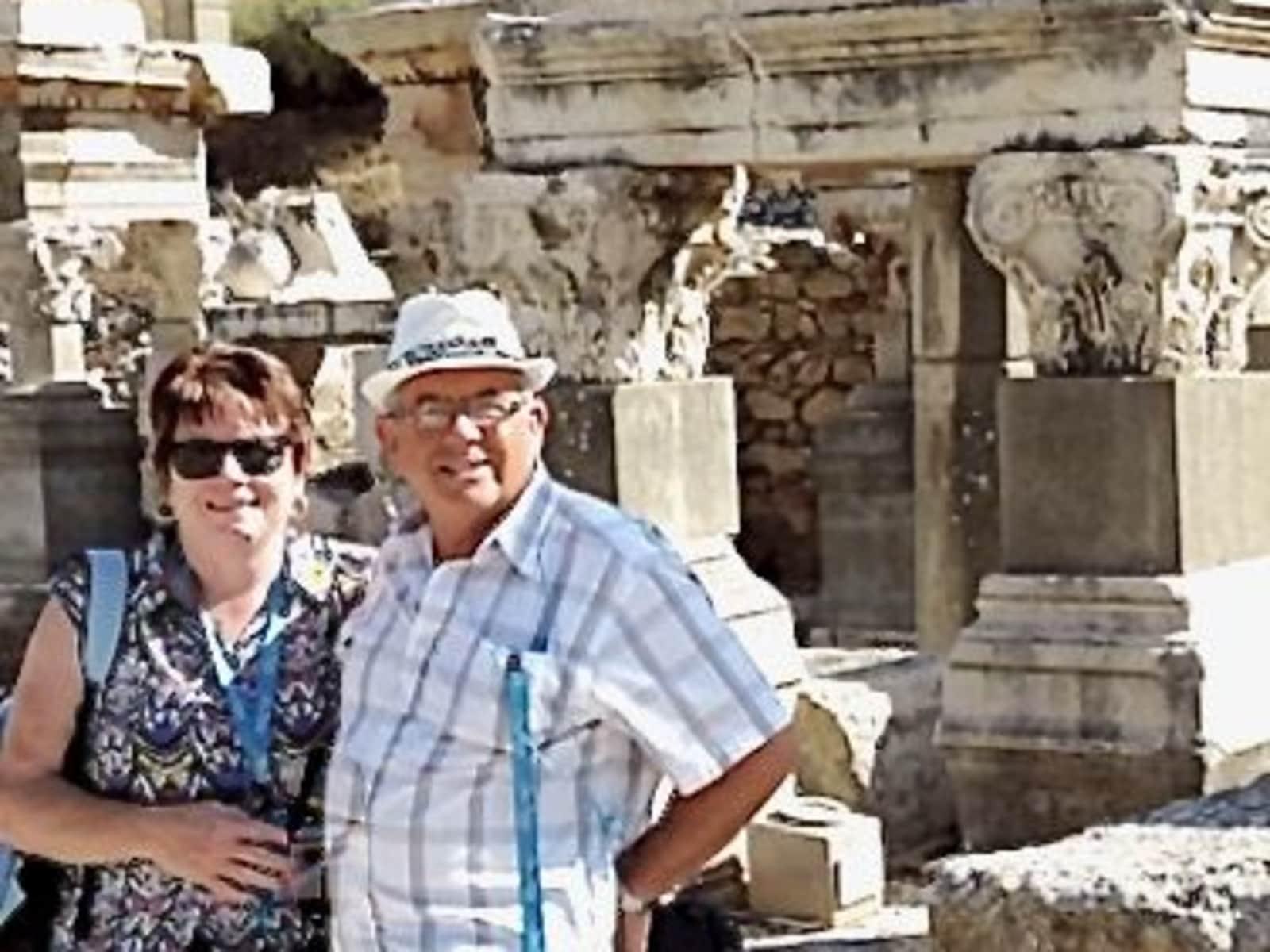 Chris & Julie from Adelaide, South Australia, Australia