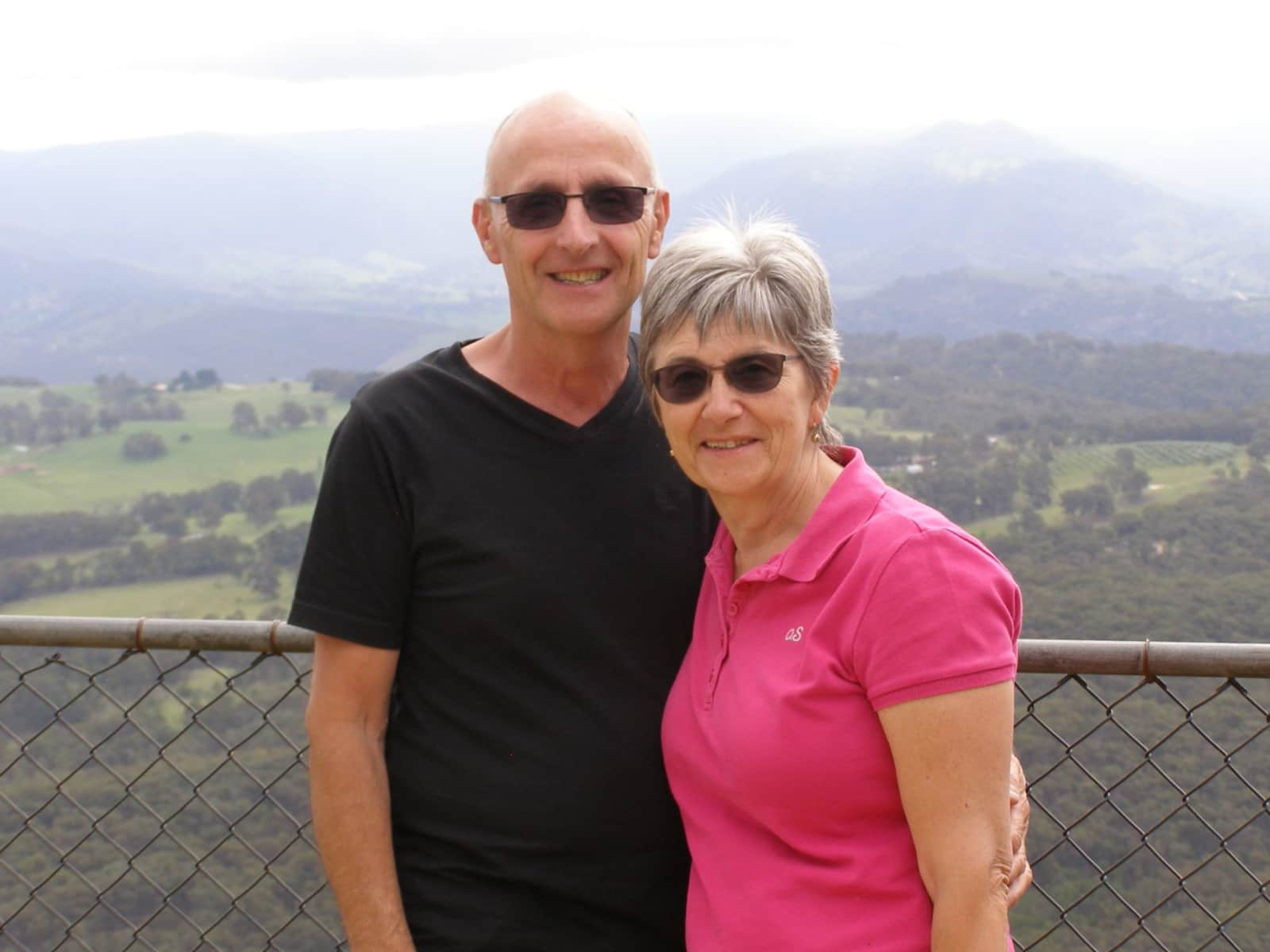 Helen & Clive from Bateau Bay, New South Wales, Australia