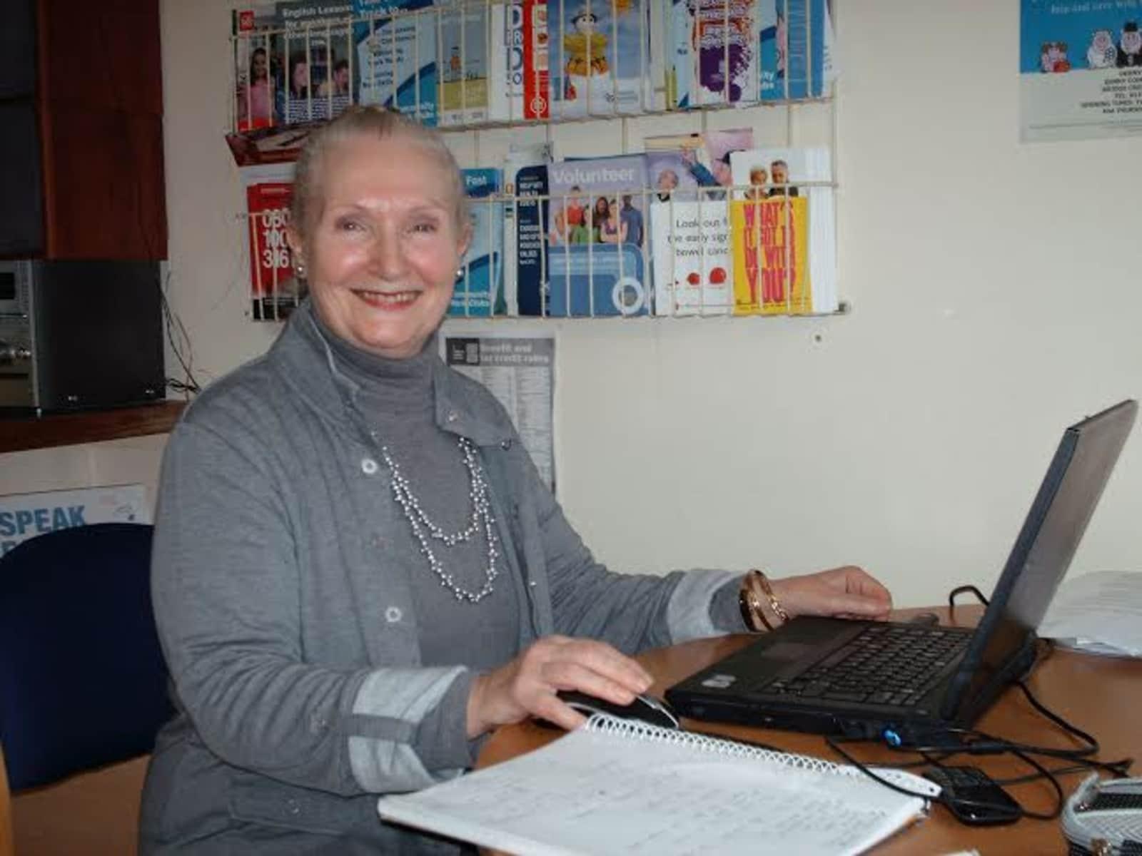 Mary from Edinburgh, United Kingdom