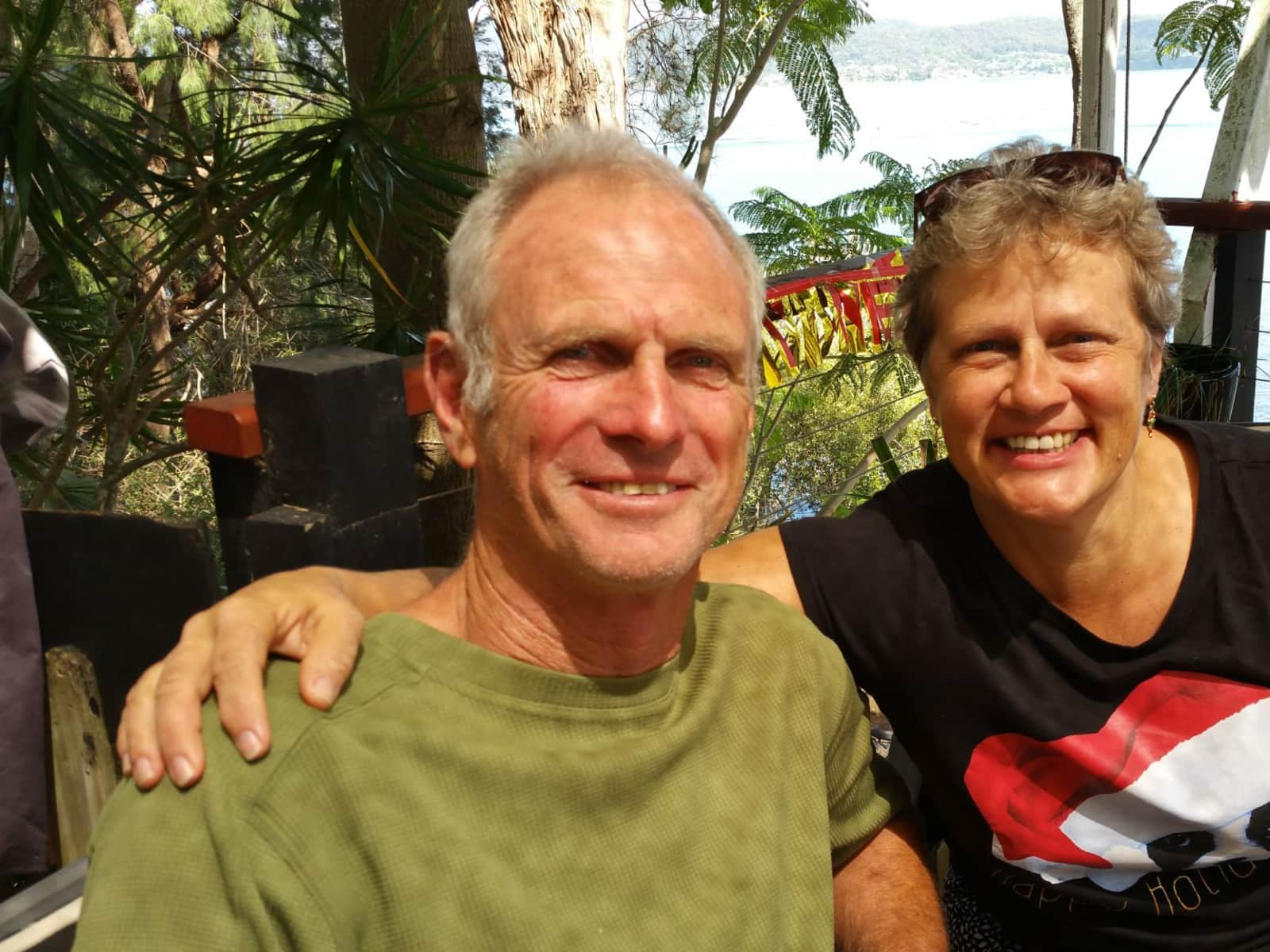 Kathy & Vic from Terrigal, New South Wales, Australia