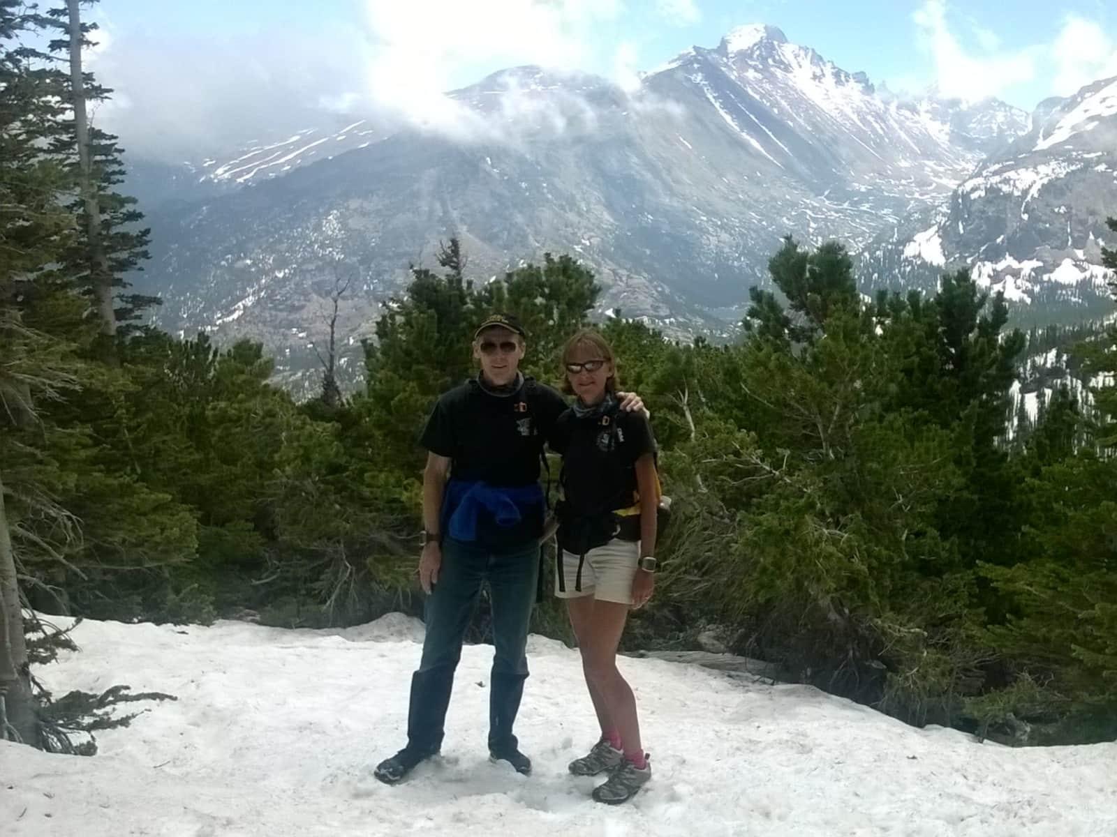 Lin & Martin from Dorchester, United Kingdom