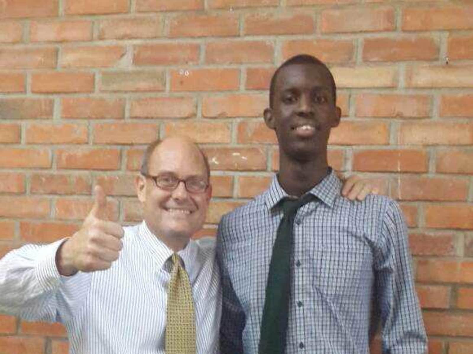 Carl from Kigali, Rwanda