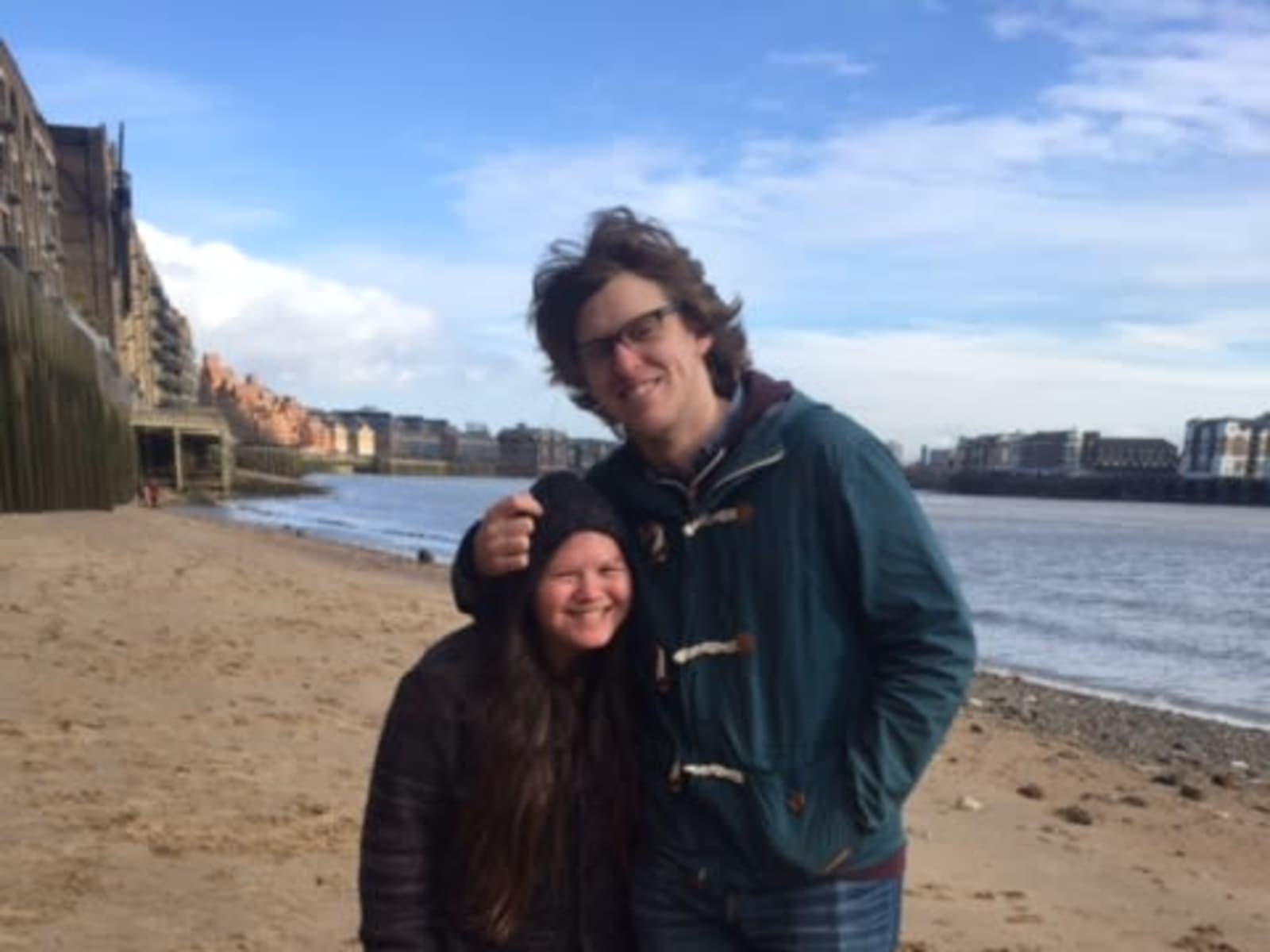 Dagney & Jeremy from Norwich, United Kingdom