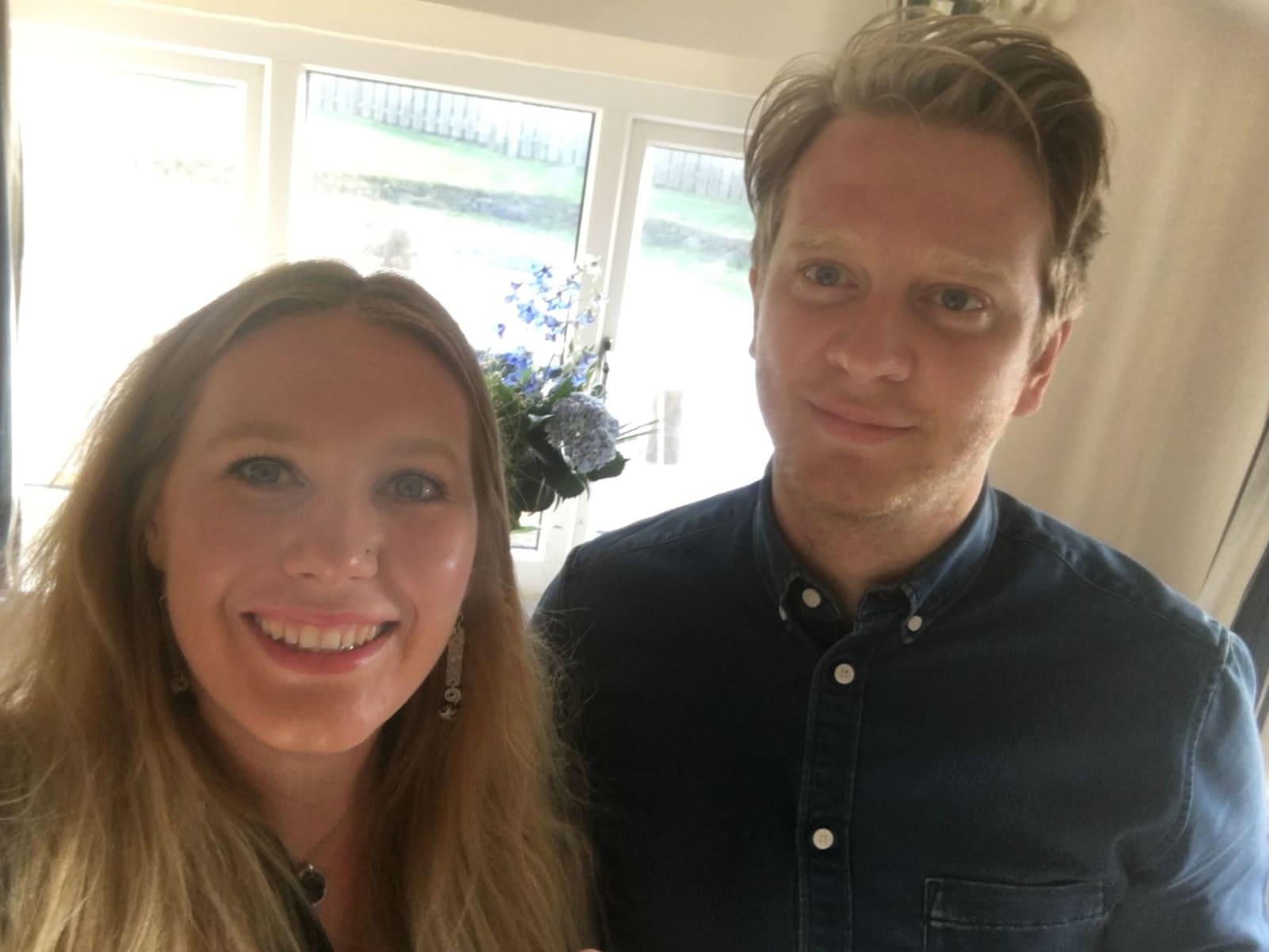 Joanna & Sean from London, United Kingdom
