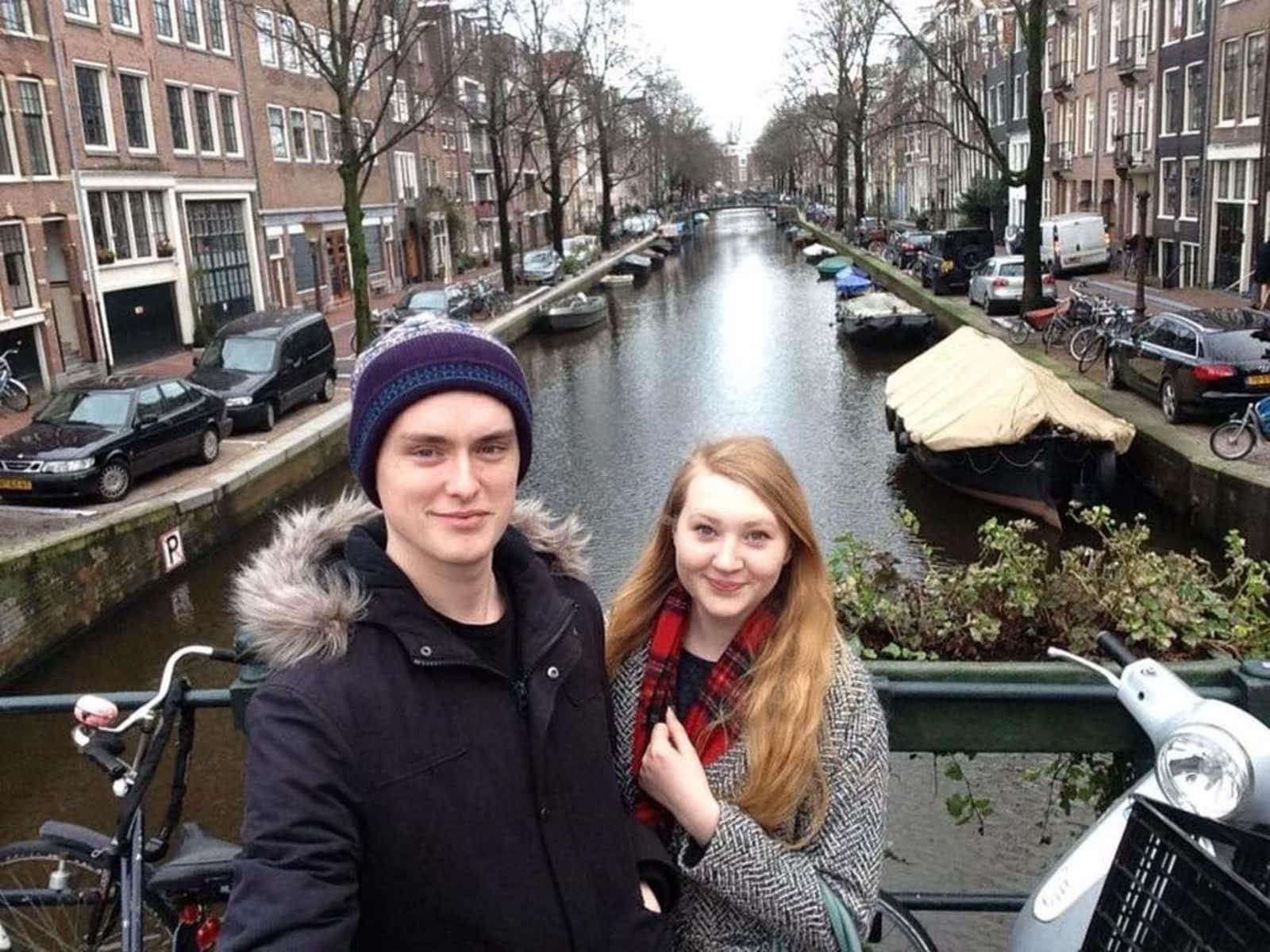 Amelia & Adam from Bradford, United Kingdom