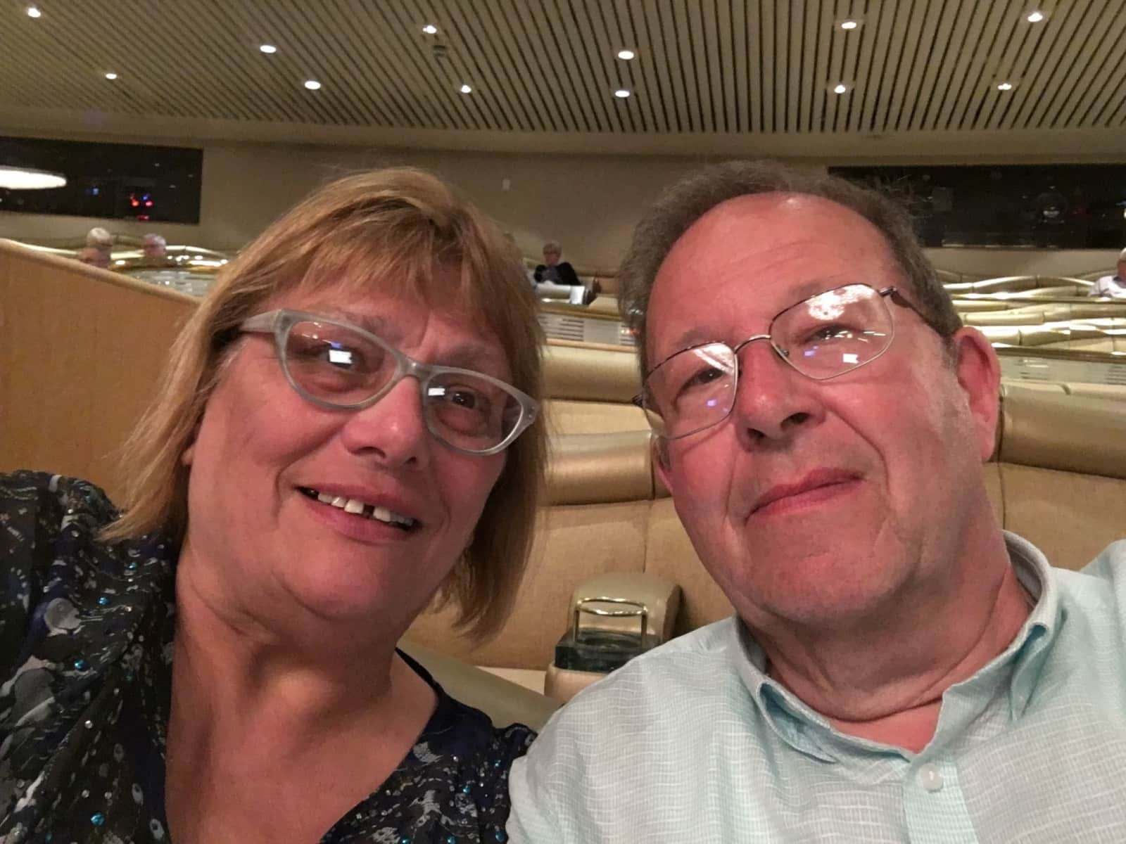Brenda & Robert from Cambridge, United Kingdom