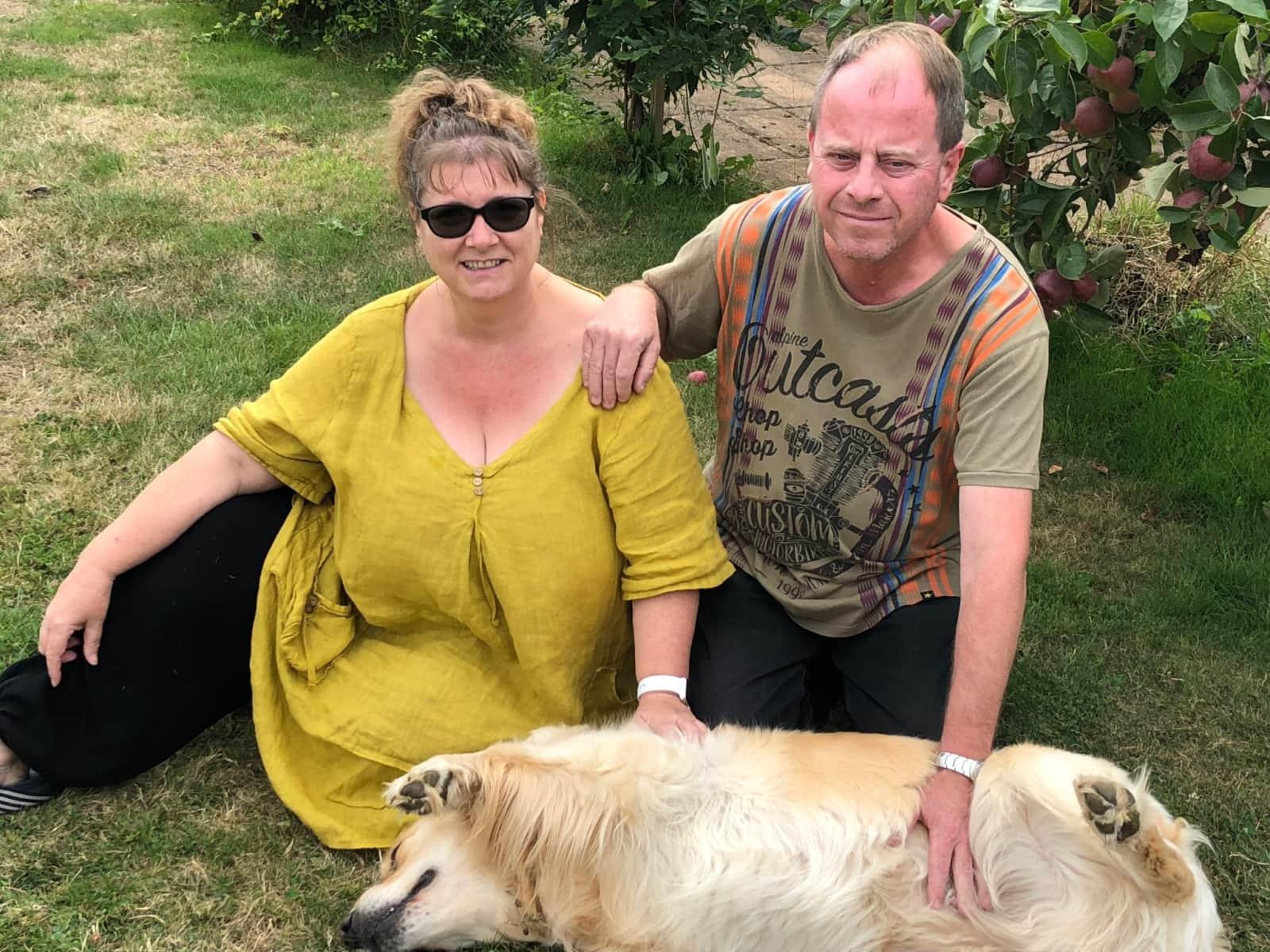 Jackie & John from Dawlish, United Kingdom