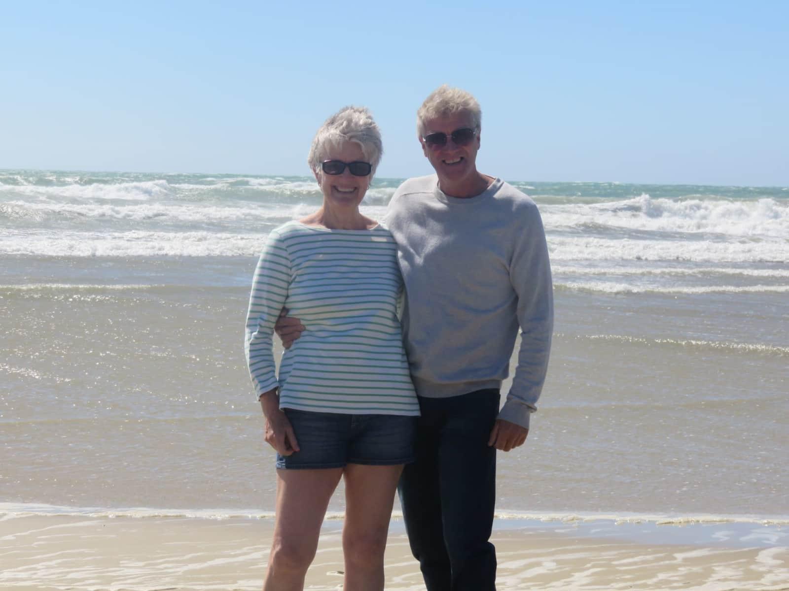 Maureen & Dale from Balclutha, New Zealand