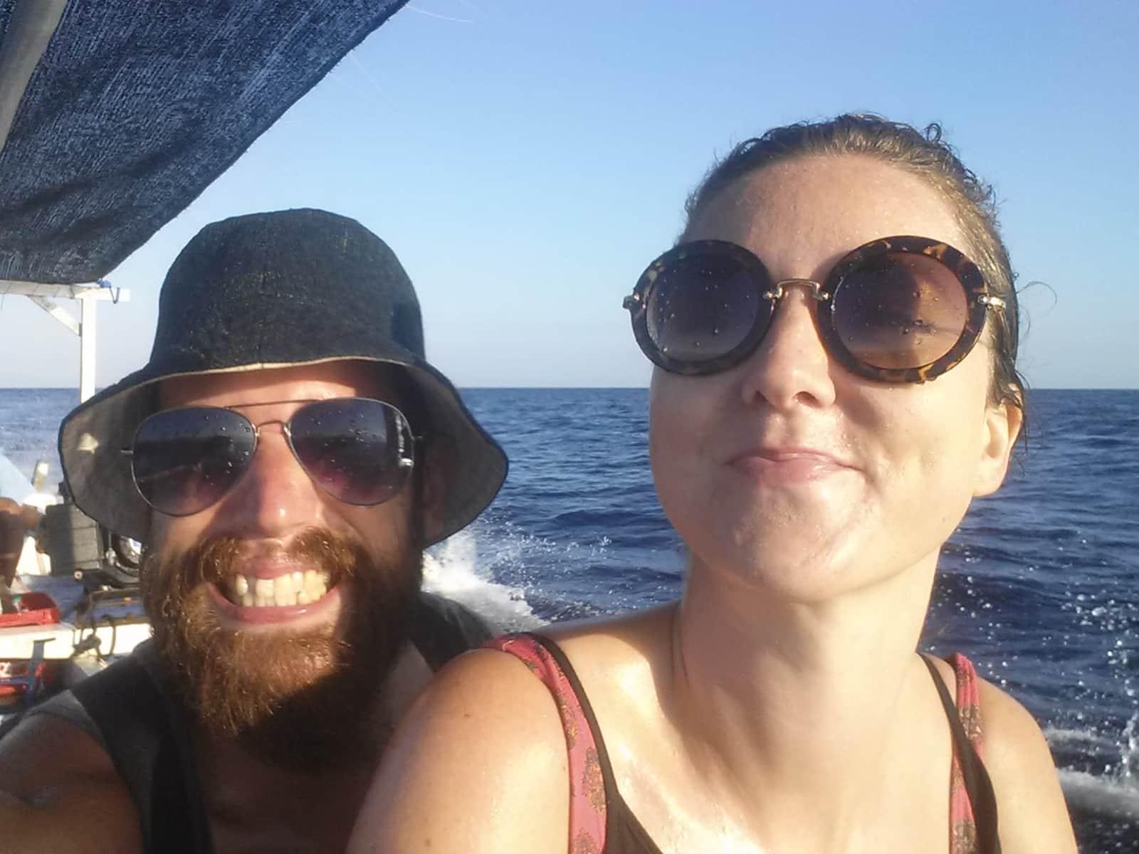 Lewis & Shona from London, United Kingdom