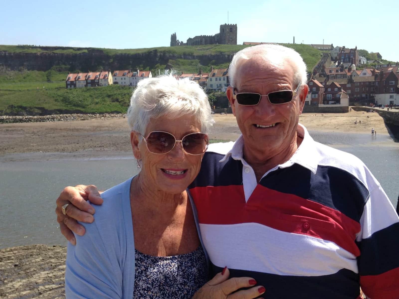 Bob & Anne from Perth, Western Australia, Australia