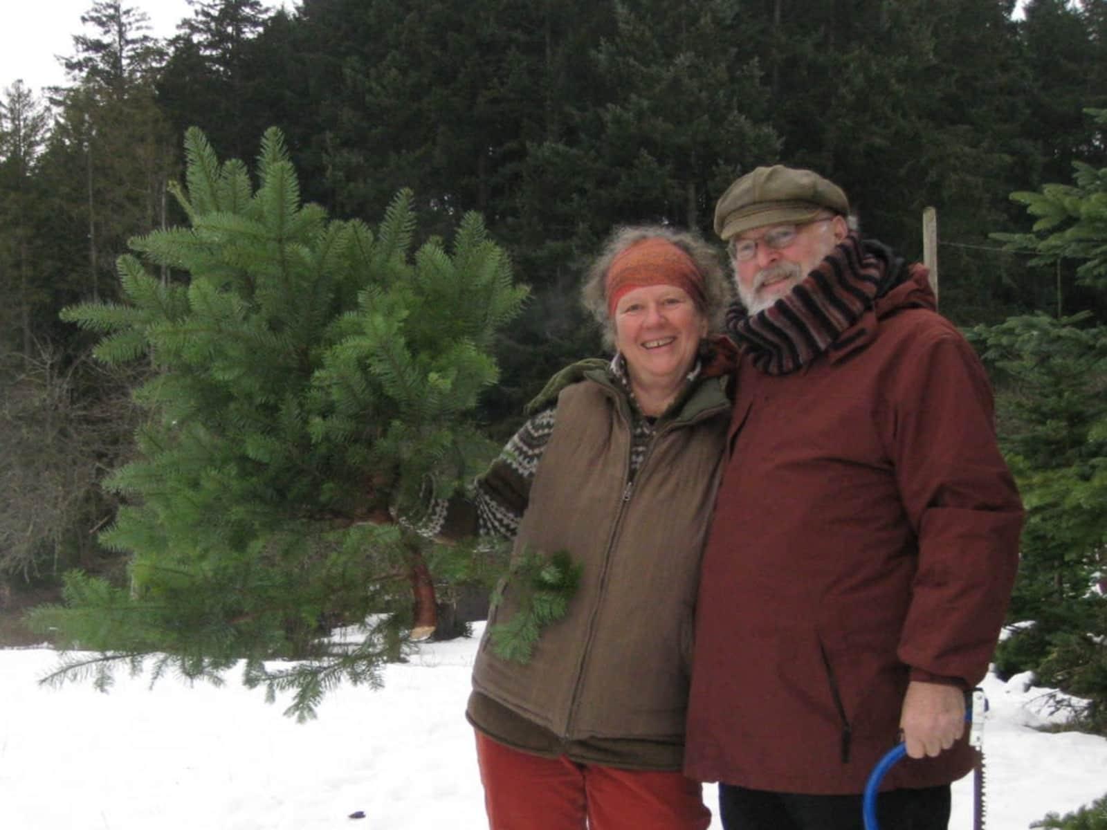 Elisabeth & Richard from Duncan, British Columbia, Canada