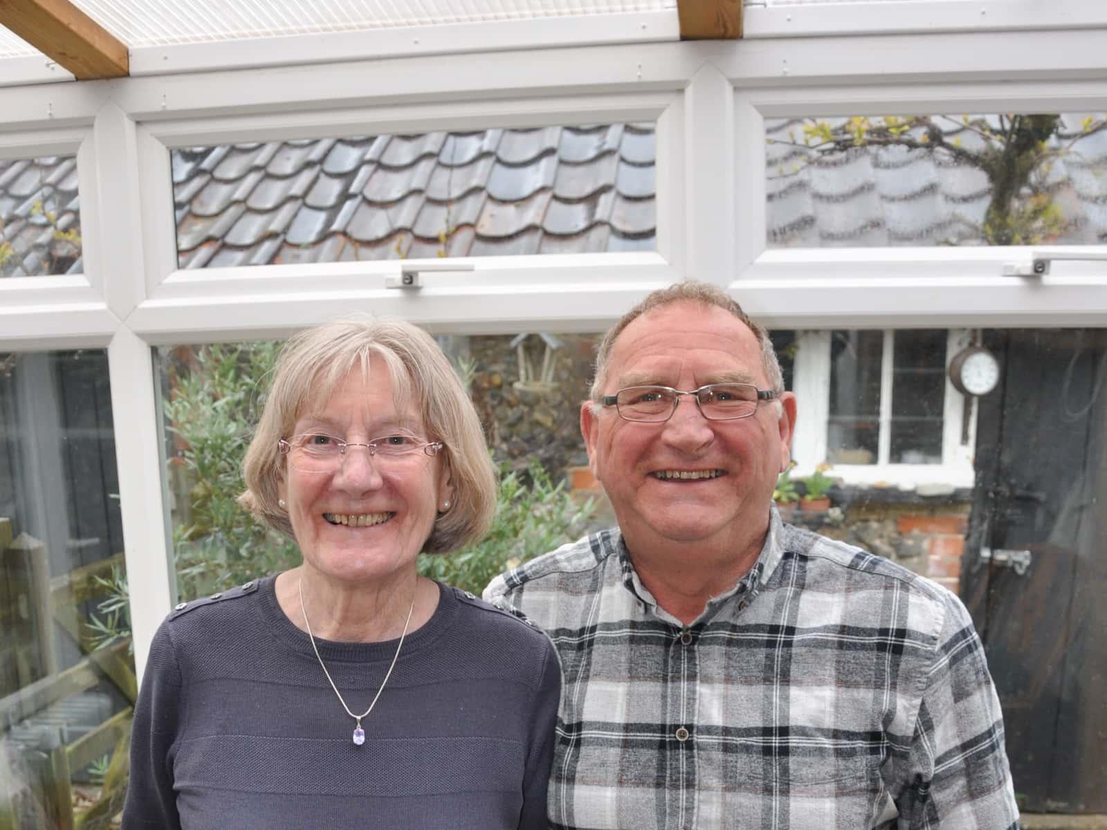 Wallace & Ann from Bury St Edmunds, United Kingdom