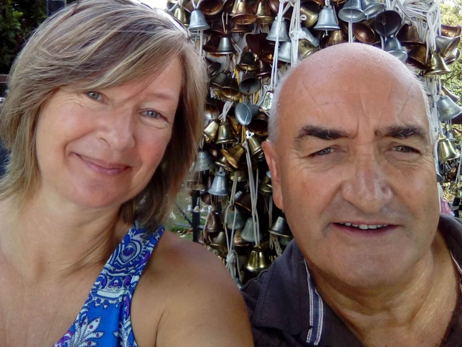 Karen & David from Sydney, New South Wales, Australia