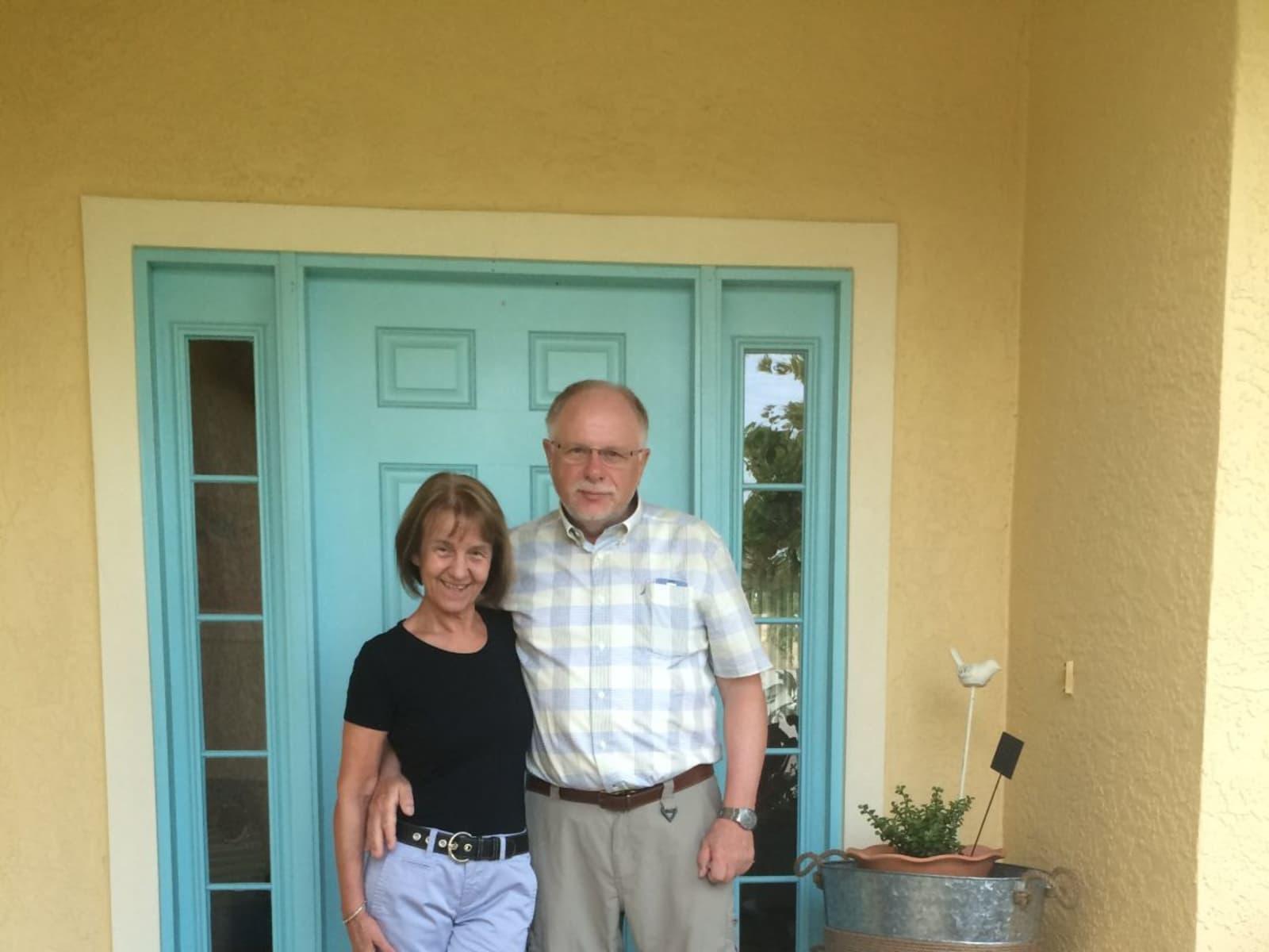 Margarete & Walter from Landau in der Pfalz, Germany