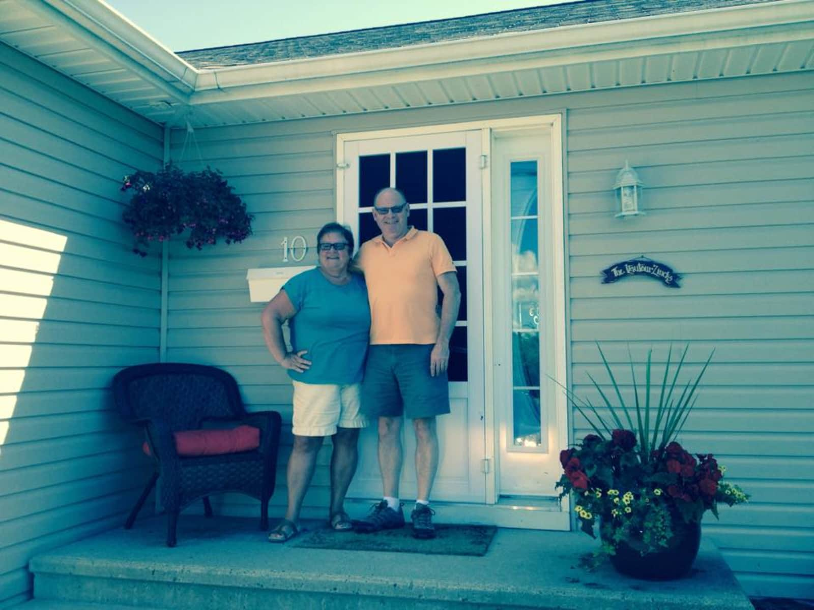 Michael & Raymonde from Moncton, New Brunswick, Canada