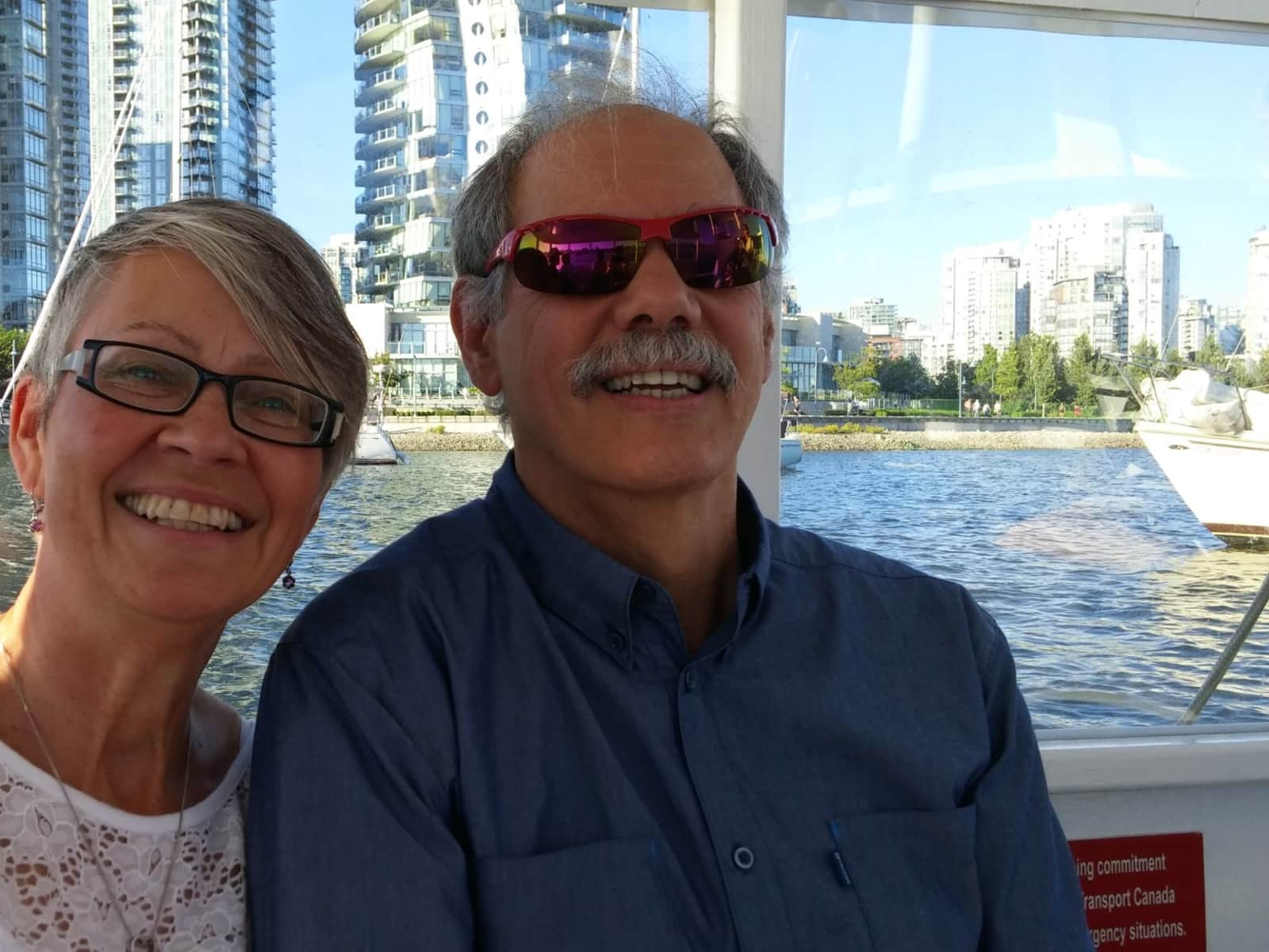 Shirley & Ken from Vancouver, British Columbia, Canada