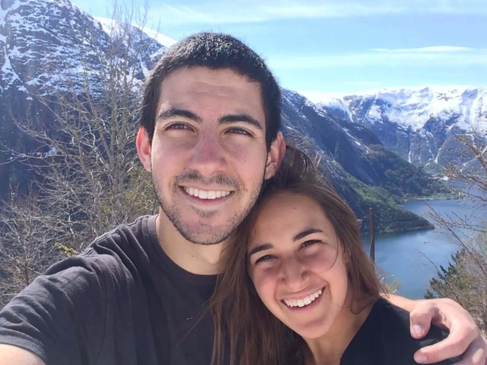 Alexandra & Nadav from Asheville, North Carolina, United States