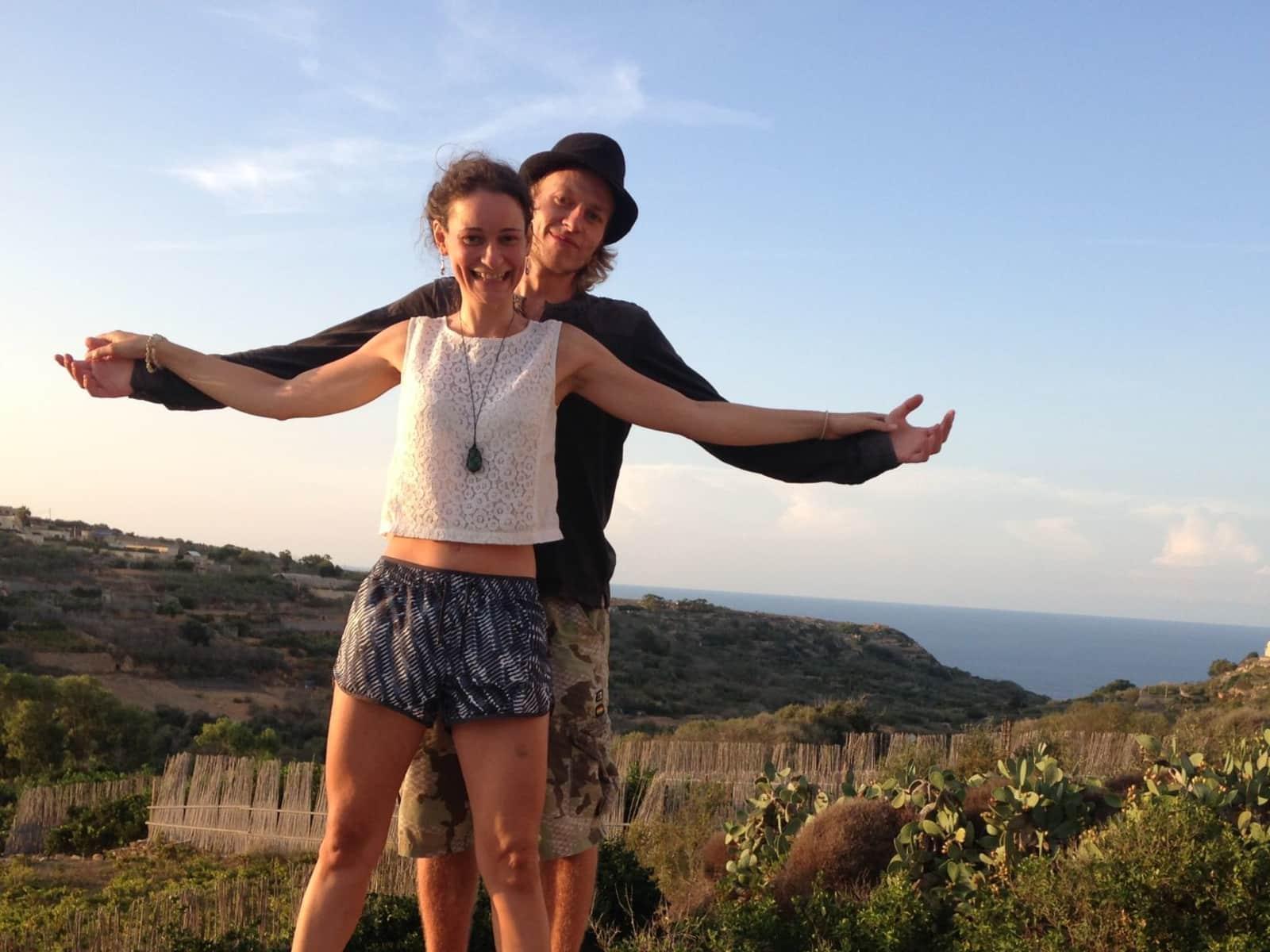 Renata & chris & Chris from London, United Kingdom