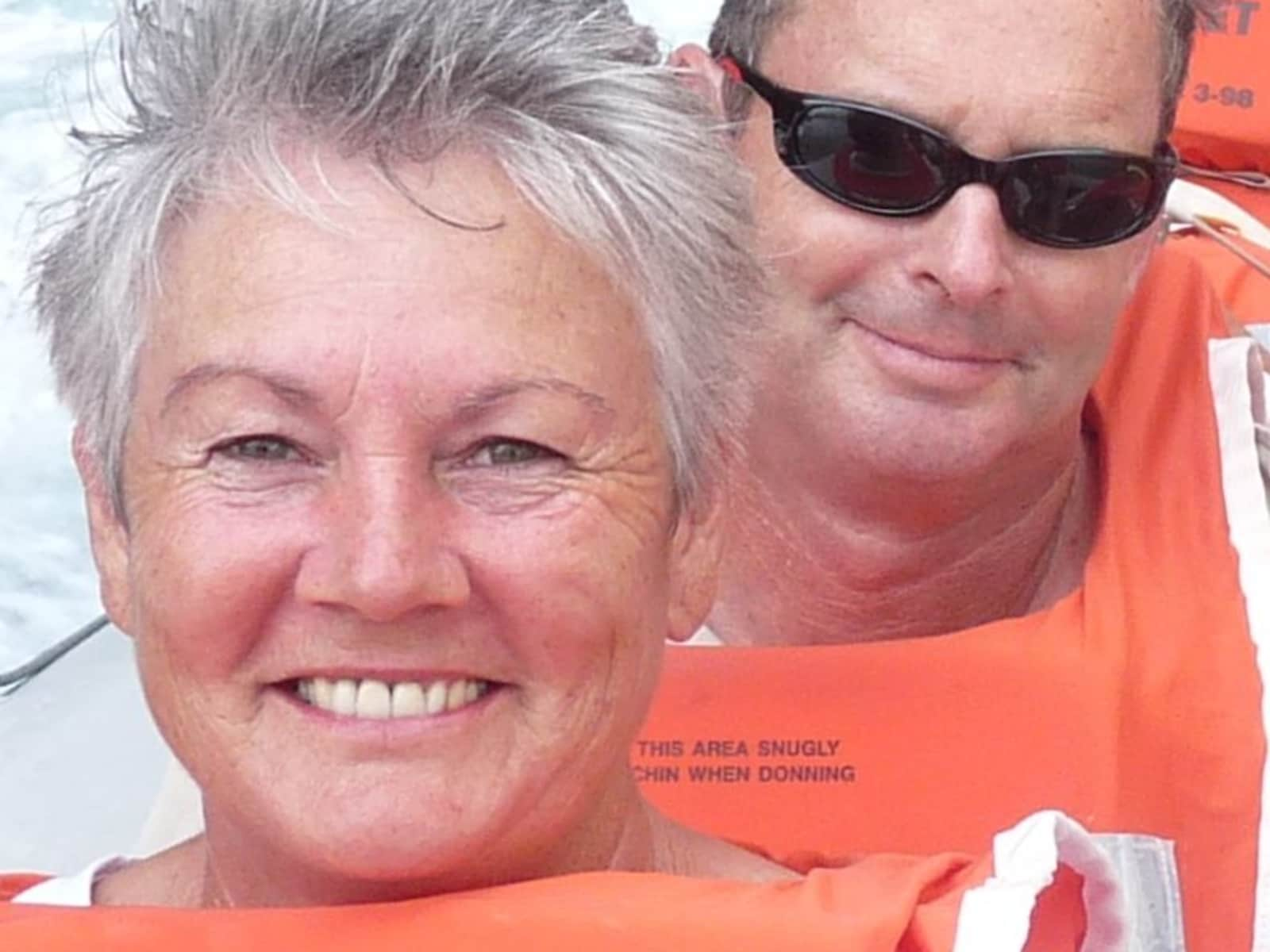 Susan & Peter from Perth, Western Australia, Australia