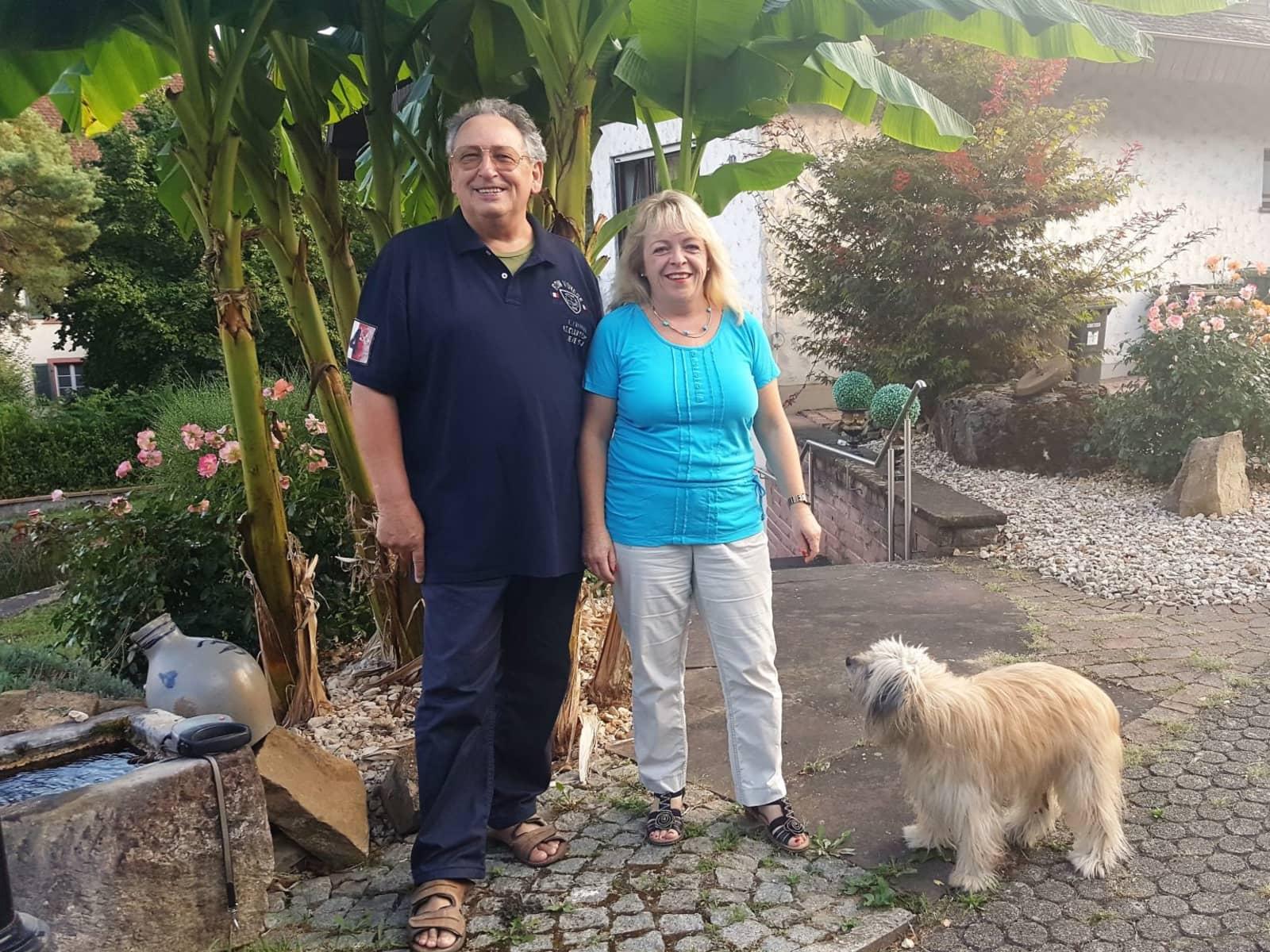 Ilse & Raymond from Sulzburg, Germany