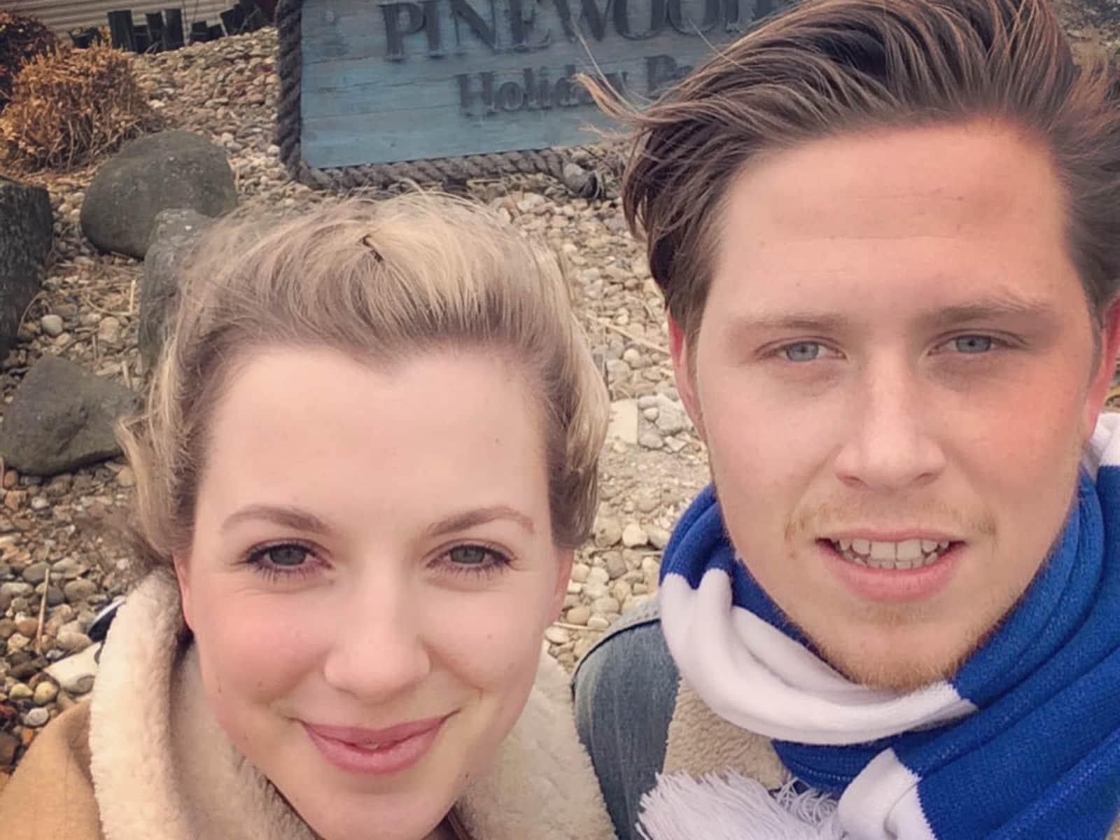 Harriet & Tom from Brighton, United Kingdom